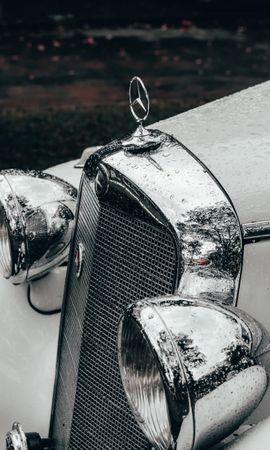 108609 télécharger le fond d'écran Voitures, Mercedes, Une Voiture, Machine, Rétro, Vintage, Millésime - économiseurs d'écran et images gratuitement
