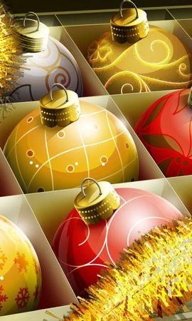 8687 descargar fondo de pantalla Vacaciones, Año Nuevo, Navidad: protectores de pantalla e imágenes gratis