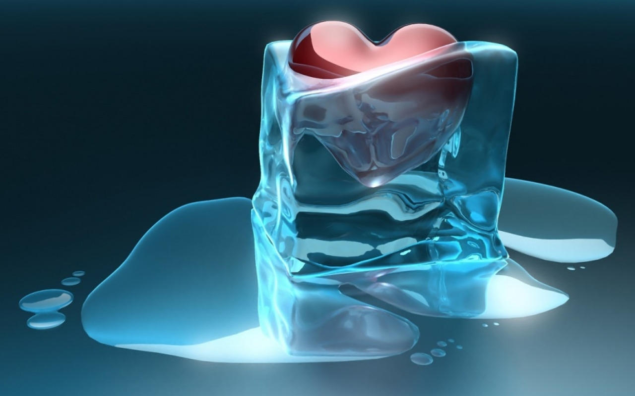 42783 download wallpaper Hearts, Ice, Objects, Pictures screensavers and pictures for free