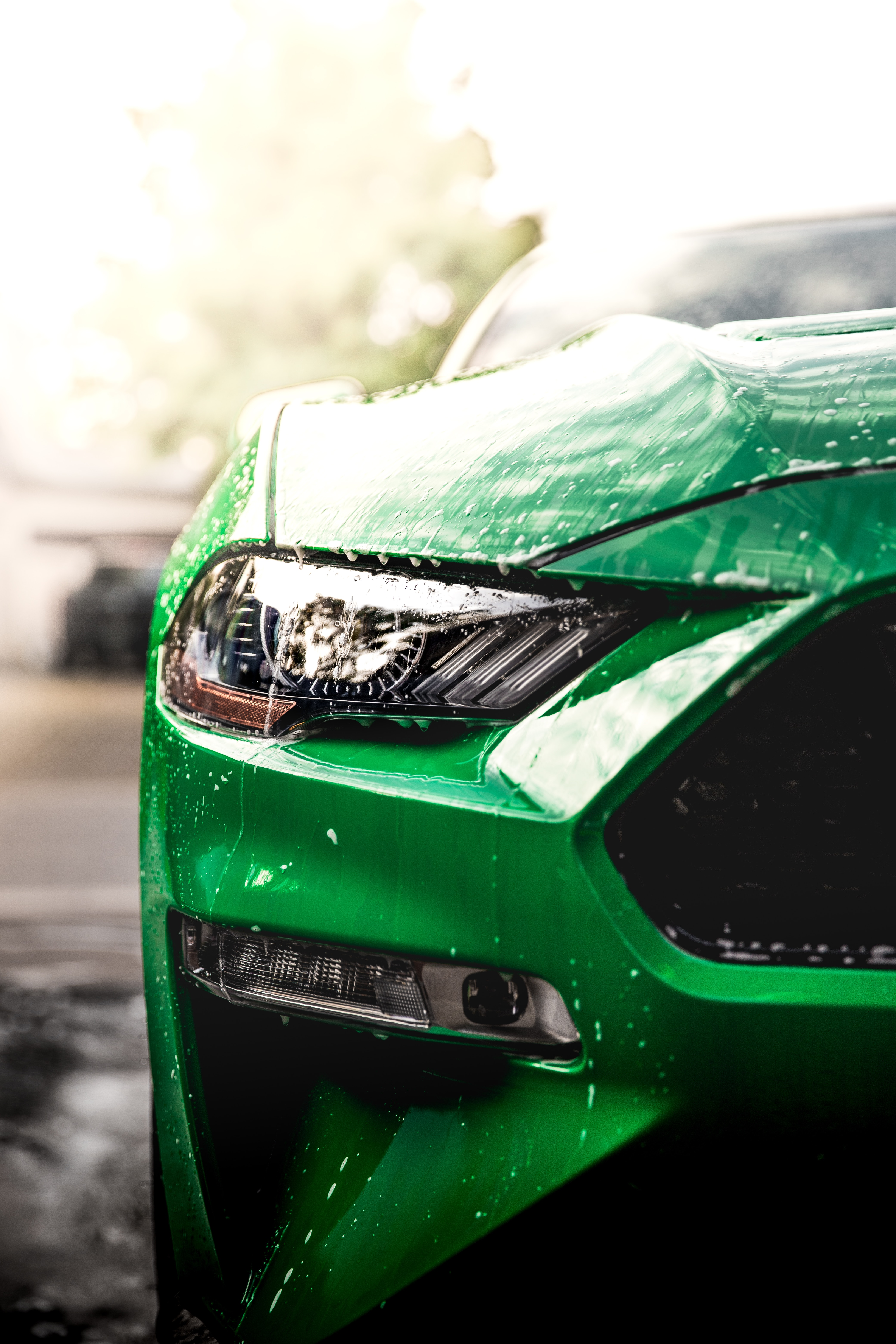 139799 Screensavers and Wallpapers Wet for phone. Download Cars, Wet, Car, Front View, Machine, Headlight pictures for free
