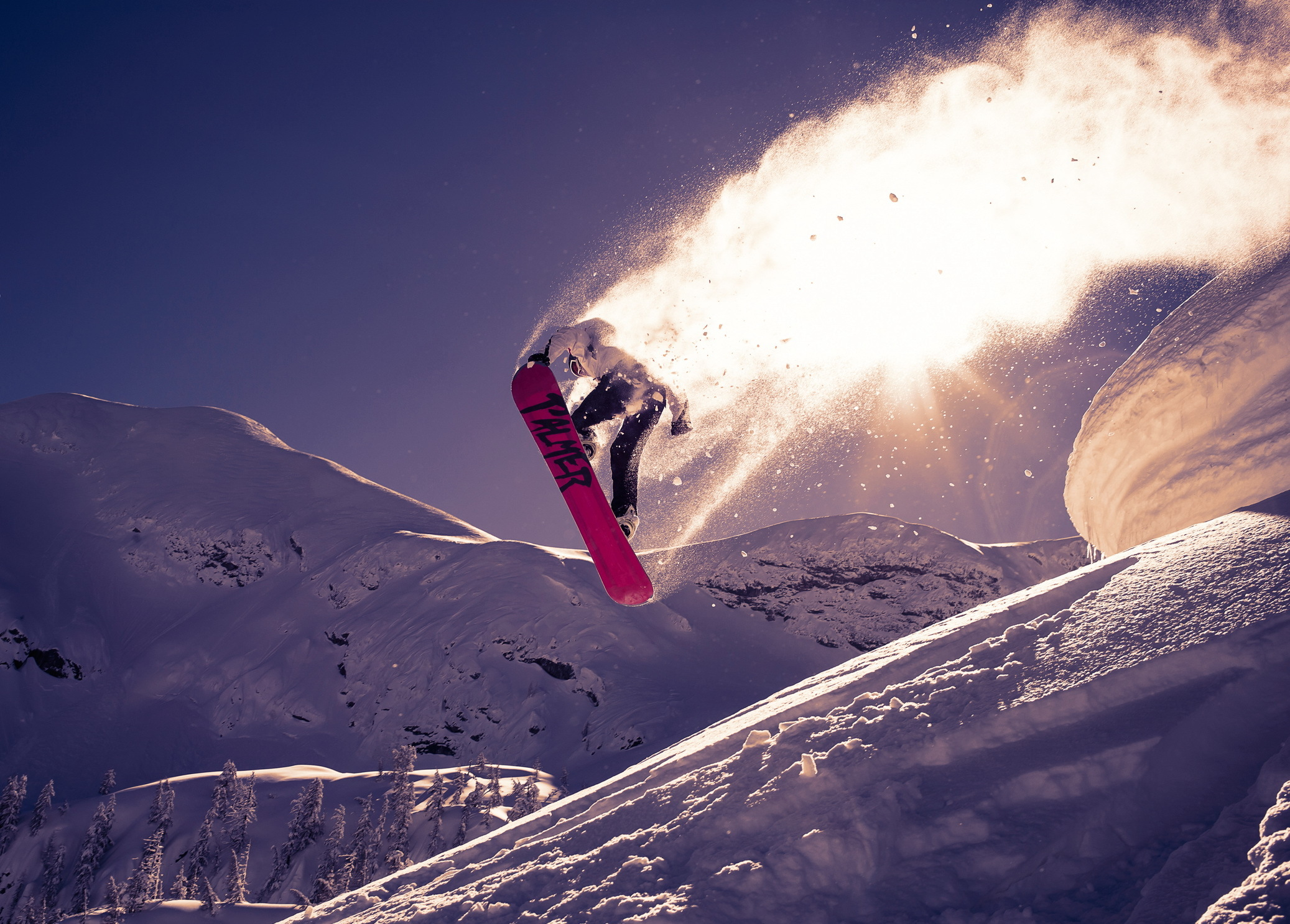 118492 download wallpaper Sports, Snow, Bounce, Jump, Snowboard, Trick screensavers and pictures for free