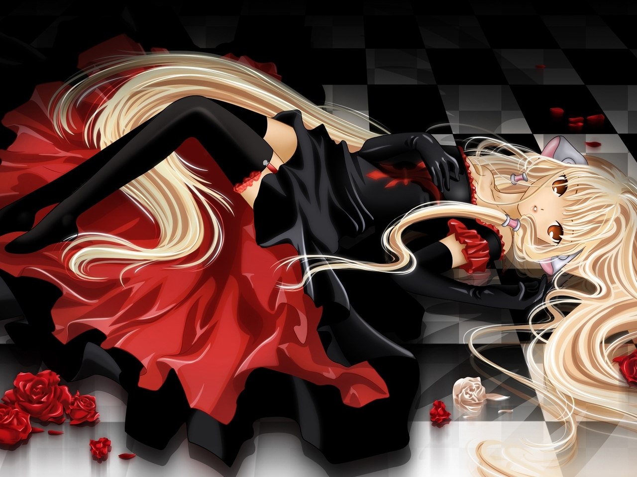 38412 download wallpaper Anime, Girls screensavers and pictures for free