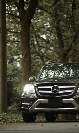 81367 télécharger le fond d'écran Voitures, Mercedes-Benz Glk350, Mercedes-Benz, Mercedes, Vue De Face, Phares, Lumières - économiseurs d'écran et images gratuitement