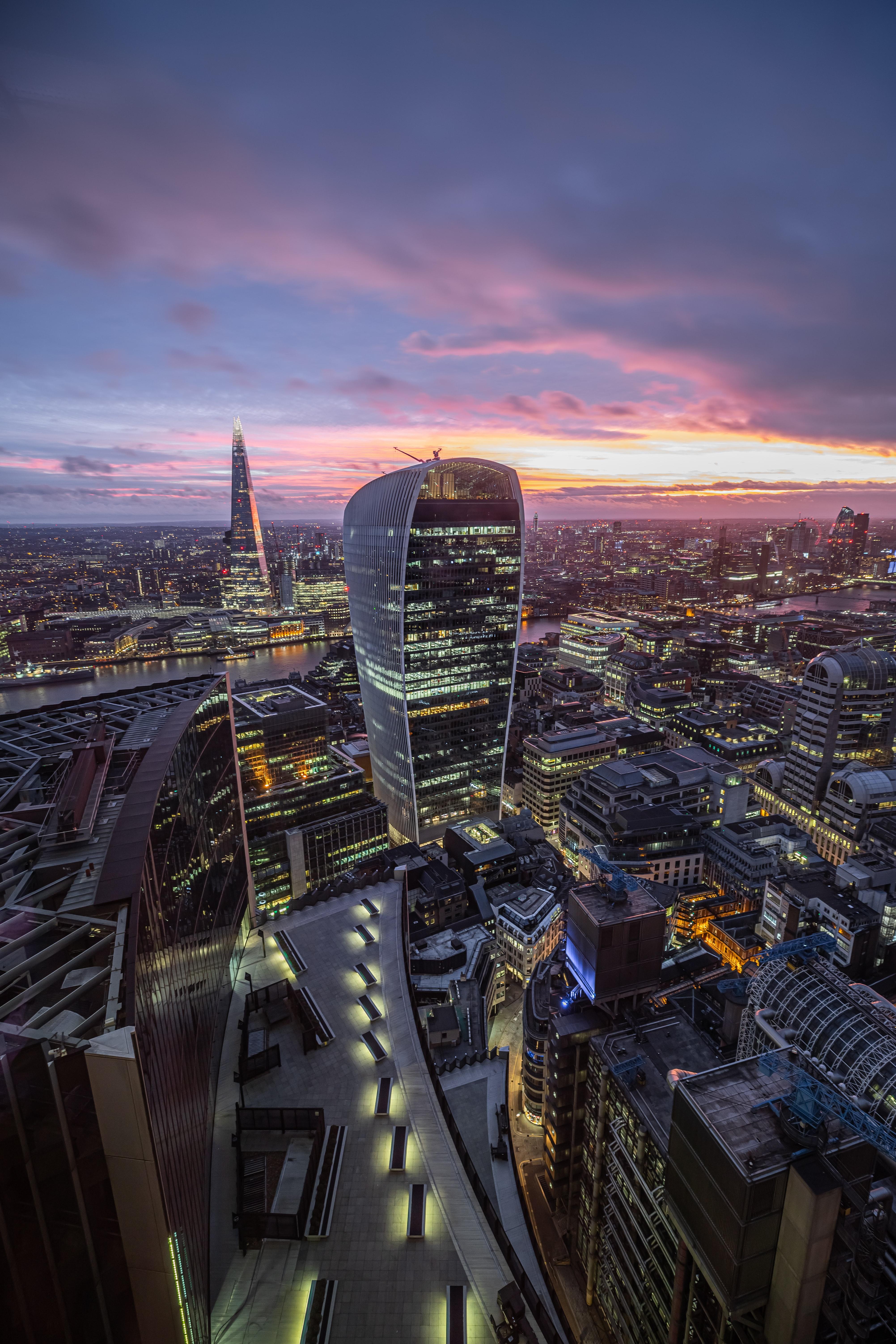 89808 Hintergrundbild herunterladen Architektur, Städte, London, Stadt, Wolkenkratzer, Gebäude - Bildschirmschoner und Bilder kostenlos