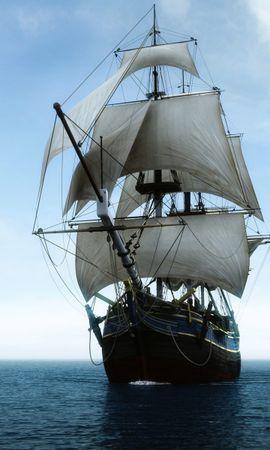 14275 скачать обои Транспорт, Корабли, Море - заставки и картинки бесплатно