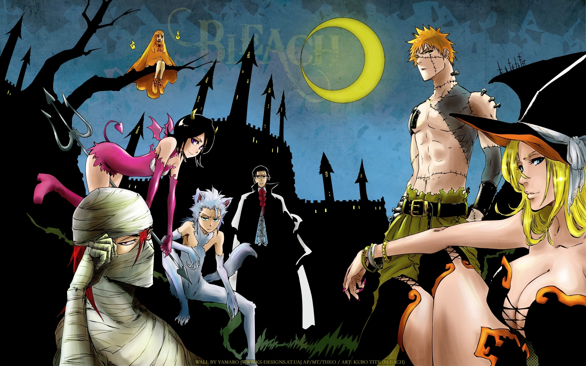3239 download wallpaper Cartoon, Anime, Bleach screensavers and pictures for free