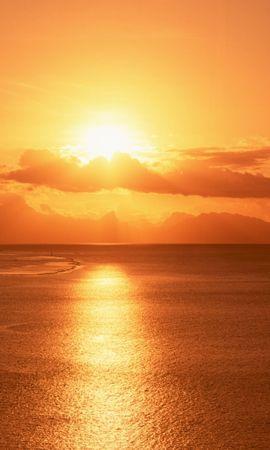 347 скачать обои Пейзаж, Вода, Закат, Небо, Море, Солнце - заставки и картинки бесплатно