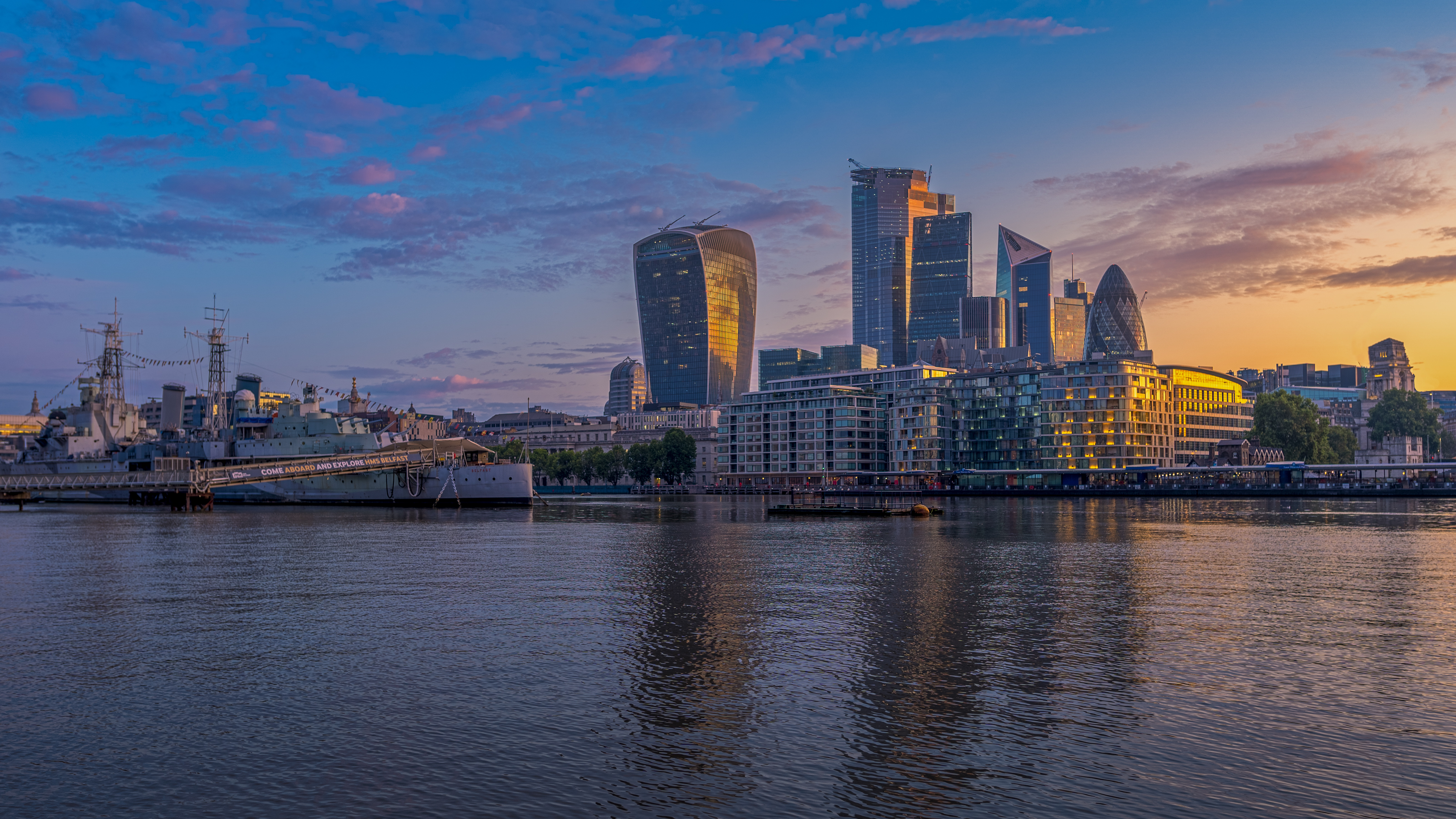 104976 Screensavers and Wallpapers London for phone. Download Cities, Rivers, Architecture, London, City, Building pictures for free