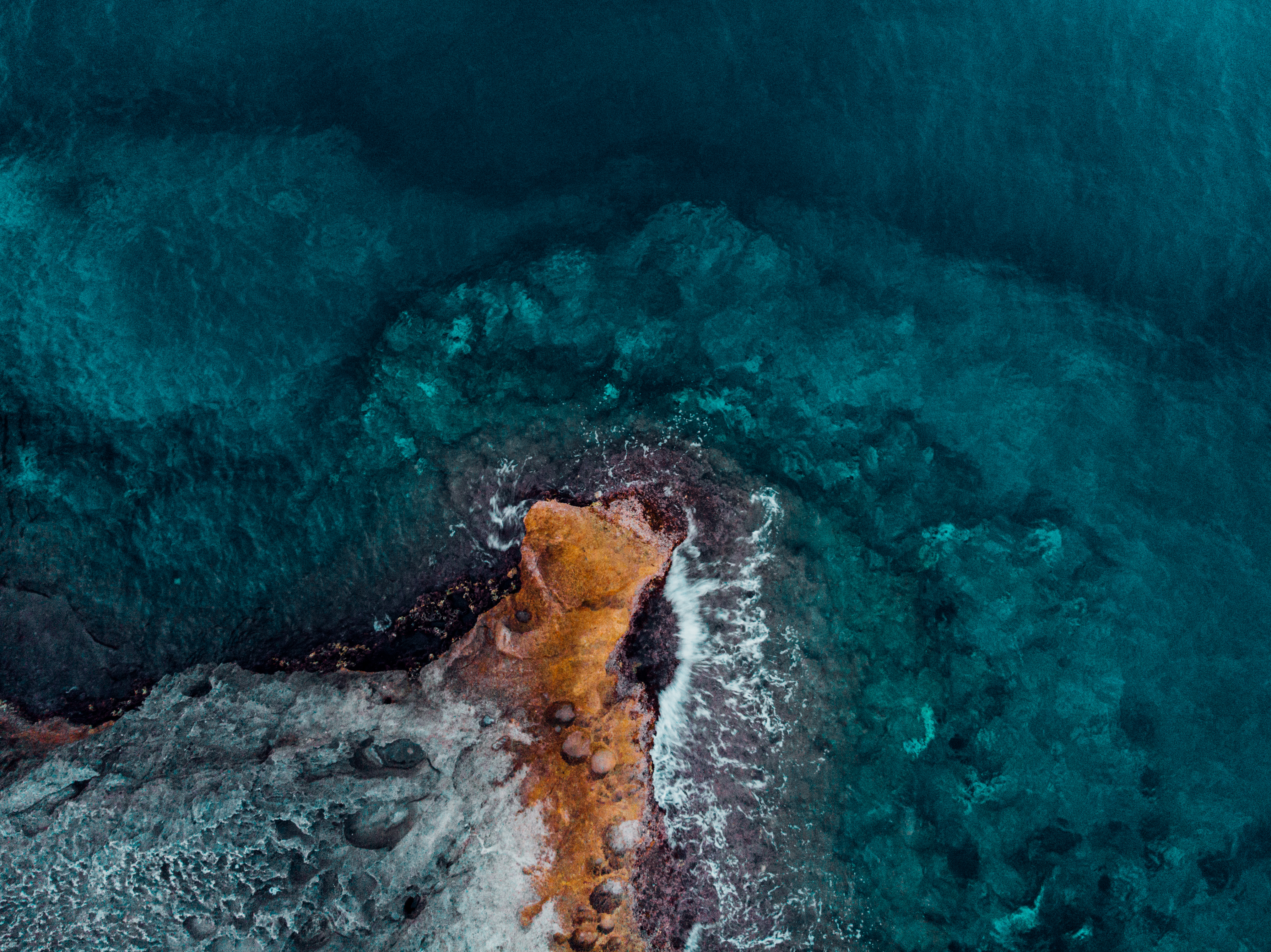 131174 Screensavers and Wallpapers Ocean for phone. Download Ocean, Nature, Water, Stones, View From Above, Shore, Bank, Surf pictures for free