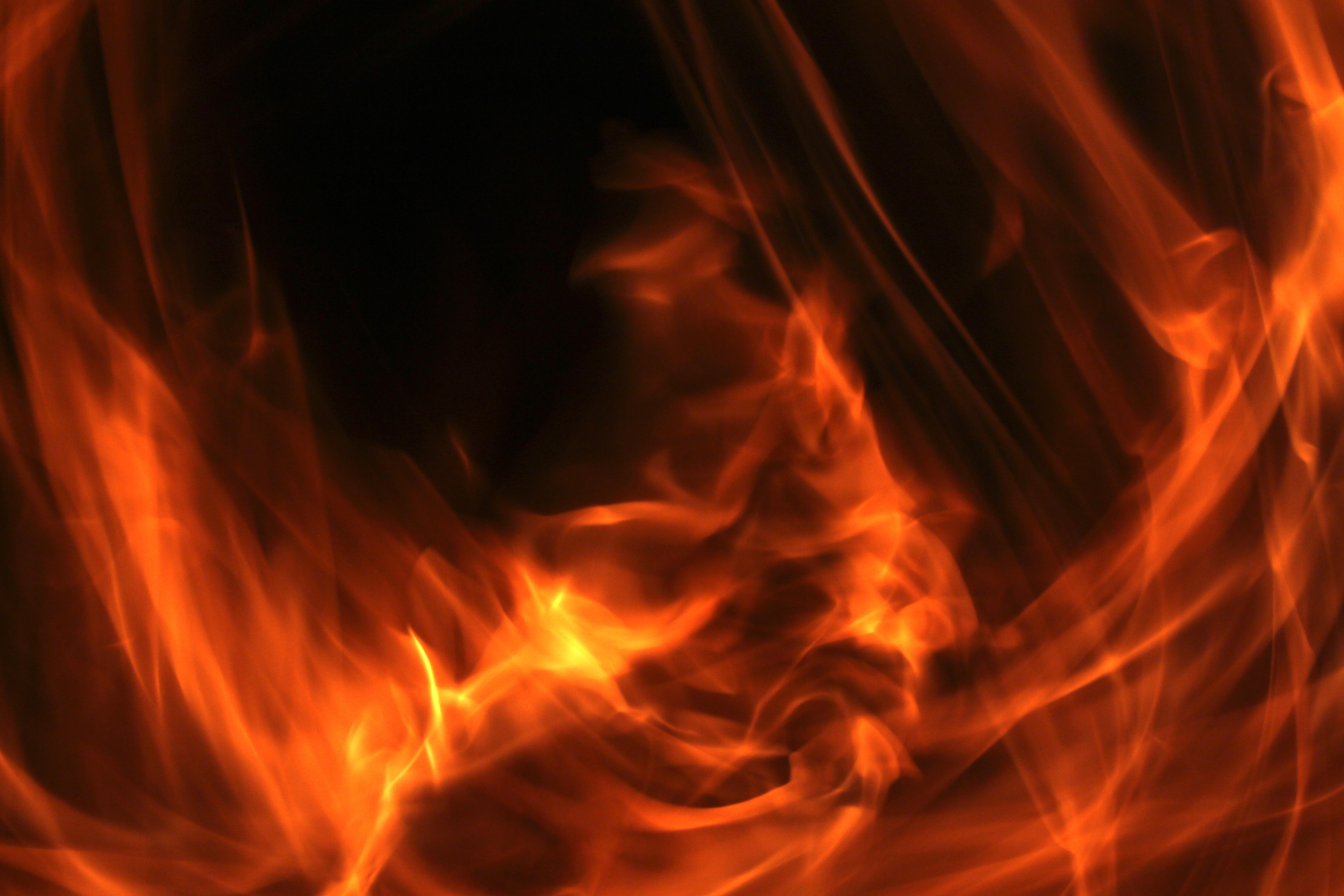107166 télécharger le fond d'écran Abstrait, Feu, Flamme, Le Noir, Bonfire - économiseurs d'écran et images gratuitement