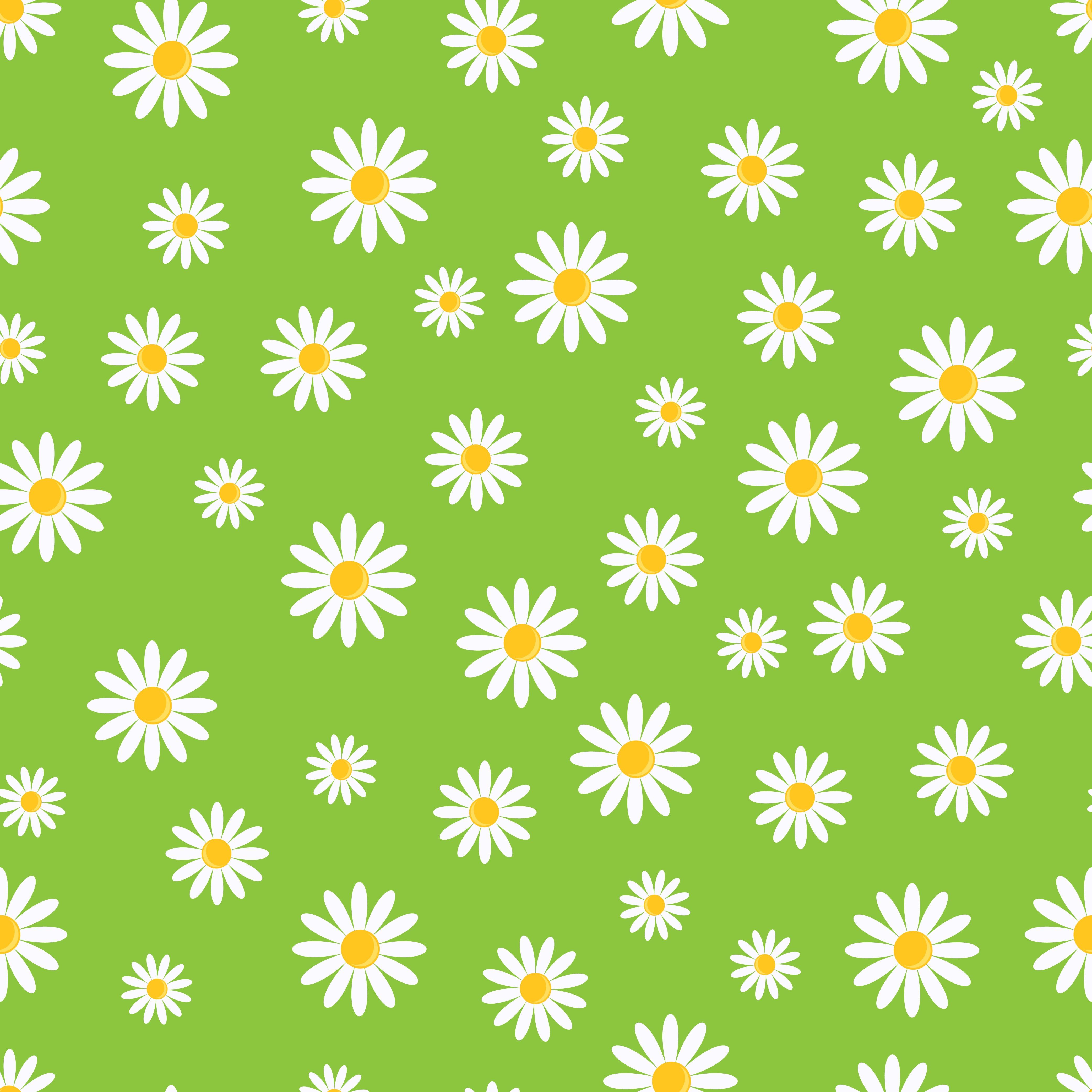 155601 скачать обои Узоры, Текстуры, Арт, Ромашки, Текстура, Зеленый - заставки и картинки бесплатно