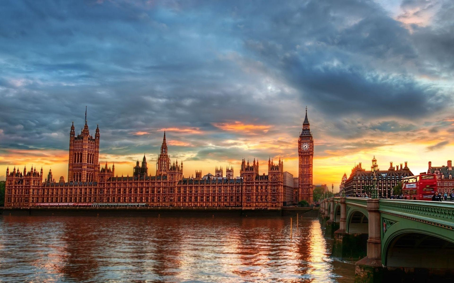 91404 download wallpaper Big Ben, Thames, City, Palace Of Westminster, London, Rivers, Hdr, Cities screensavers and pictures for free