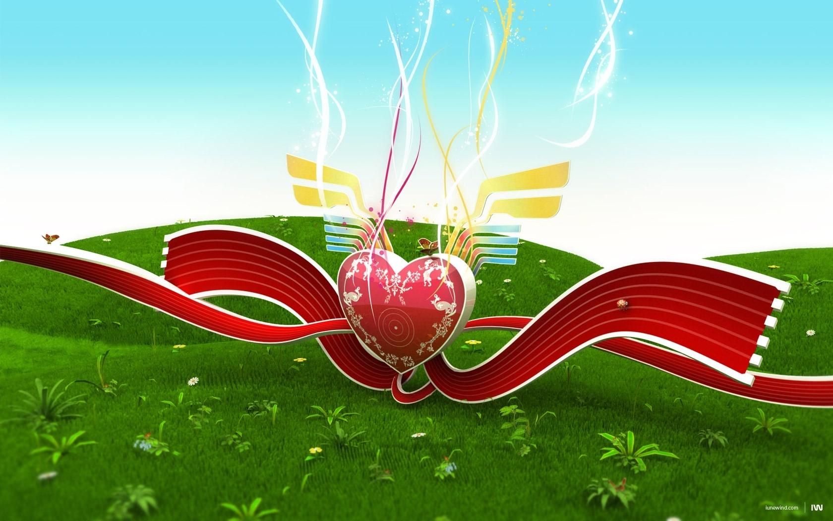 1229 скачать обои Фон, Сердца, Любовь, День Святого Валентина (Valentine's Day) - заставки и картинки бесплатно
