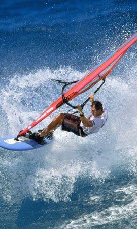 9247 скачать обои Спорт, Вода, Море, Мужчины, Виндсерфинг - заставки и картинки бесплатно