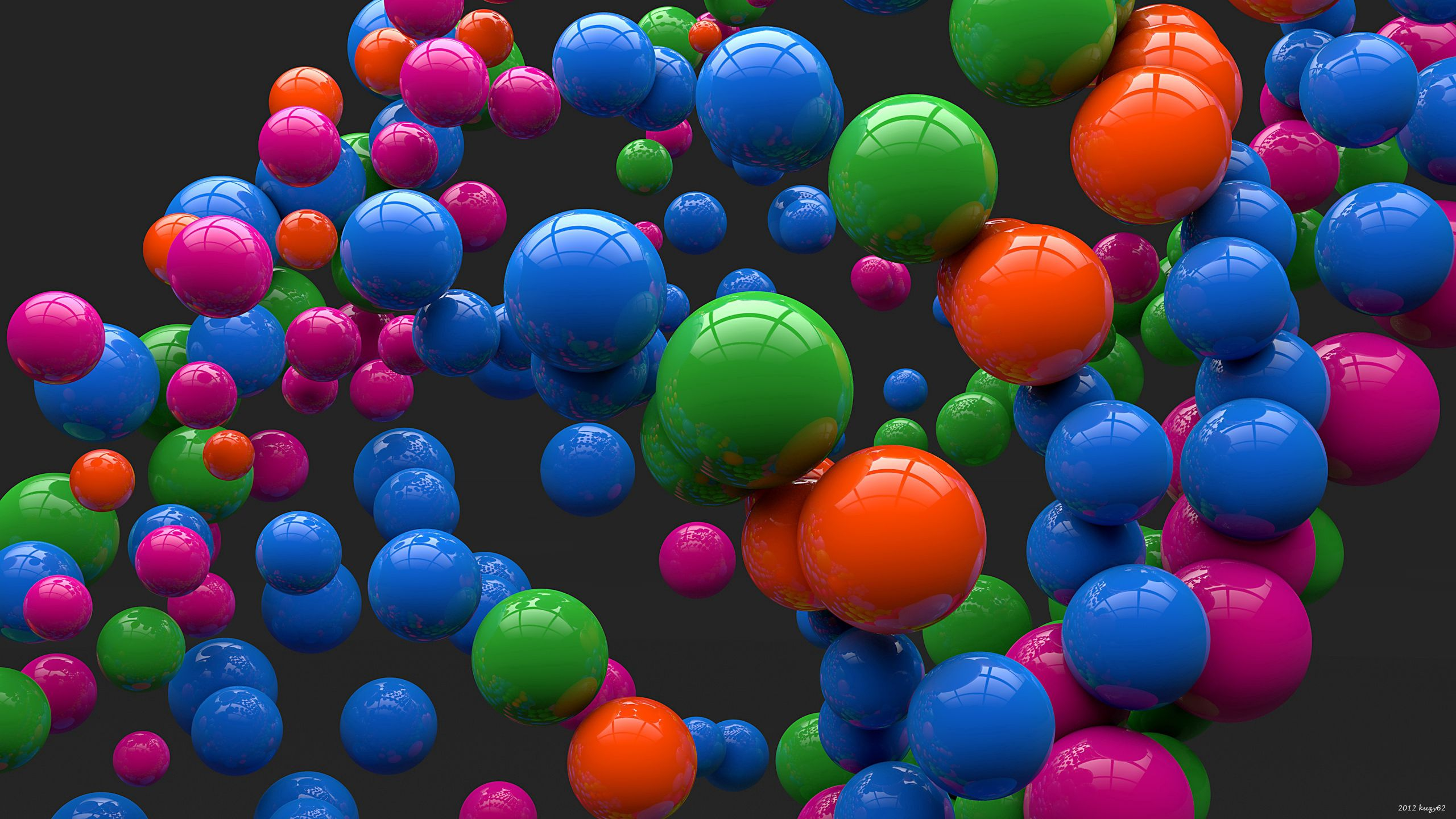 131372 Screensavers and Wallpapers Balls for phone. Download 3D, Bright, Multicolored, Motley, Balls pictures for free