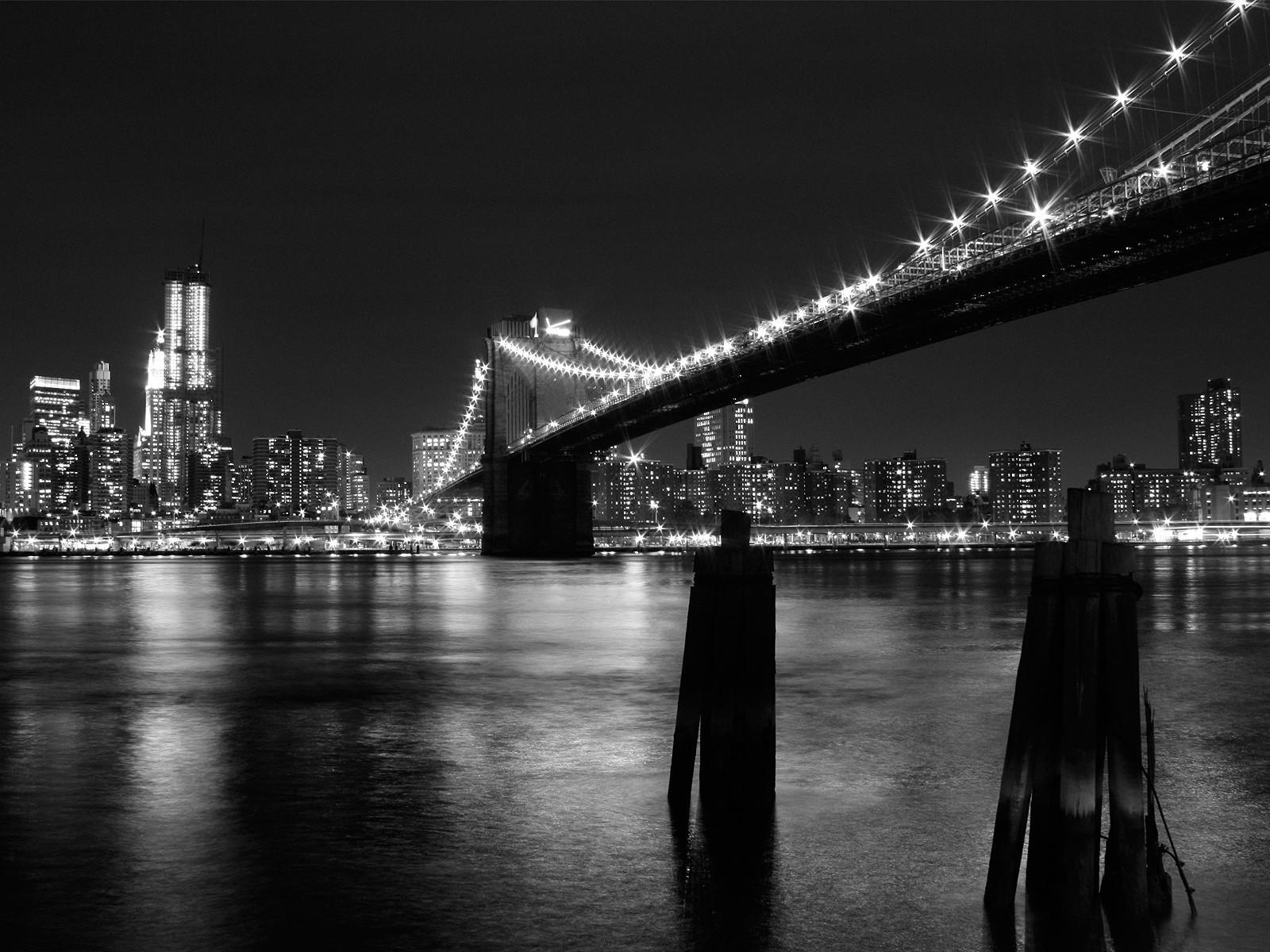 8567 скачать обои Пейзаж, Города, Река, Мосты, Ночь - заставки и картинки бесплатно