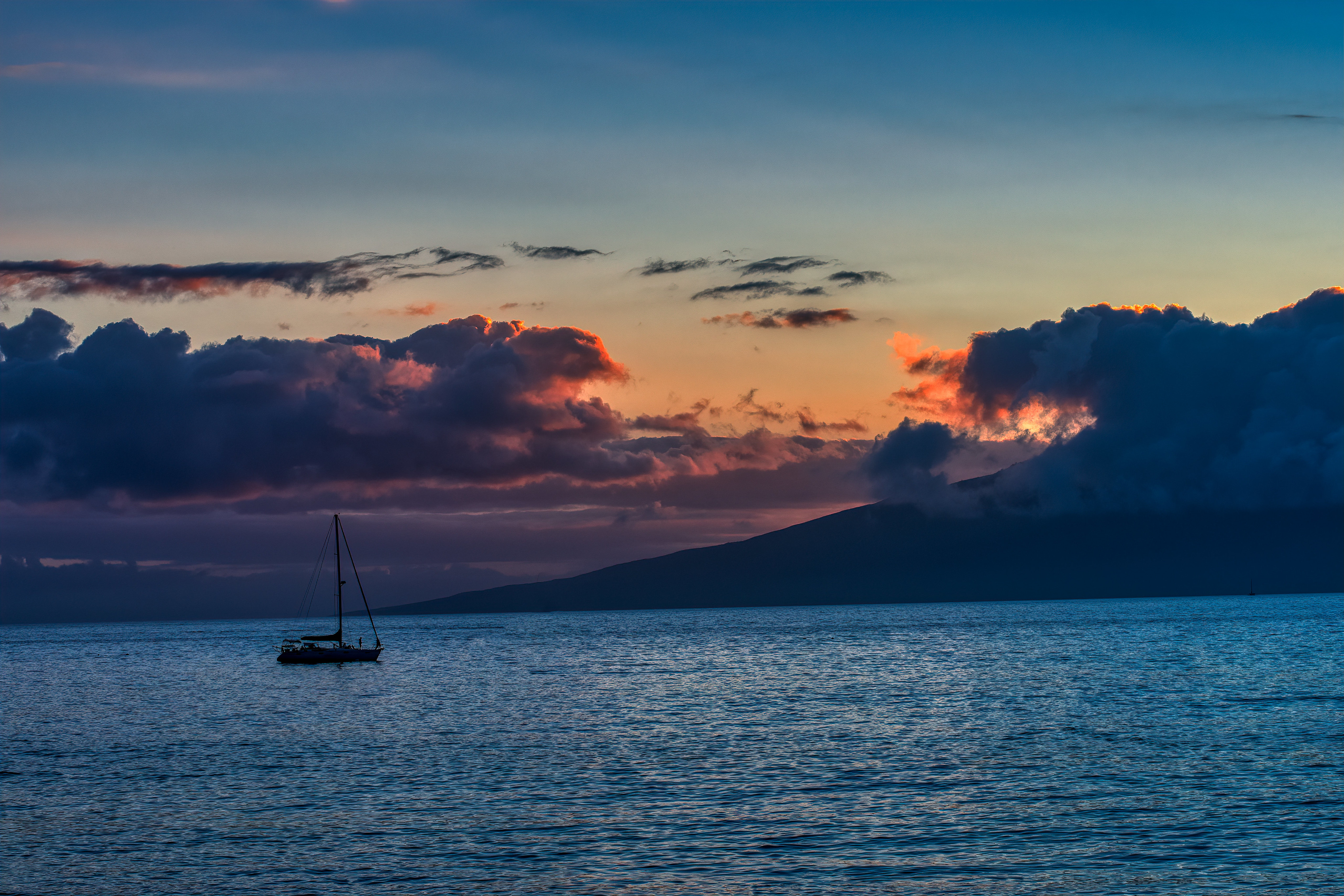 155708 Screensavers and Wallpapers Boat for phone. Download Nature, Sunset, Sea, Horizon, Boat pictures for free