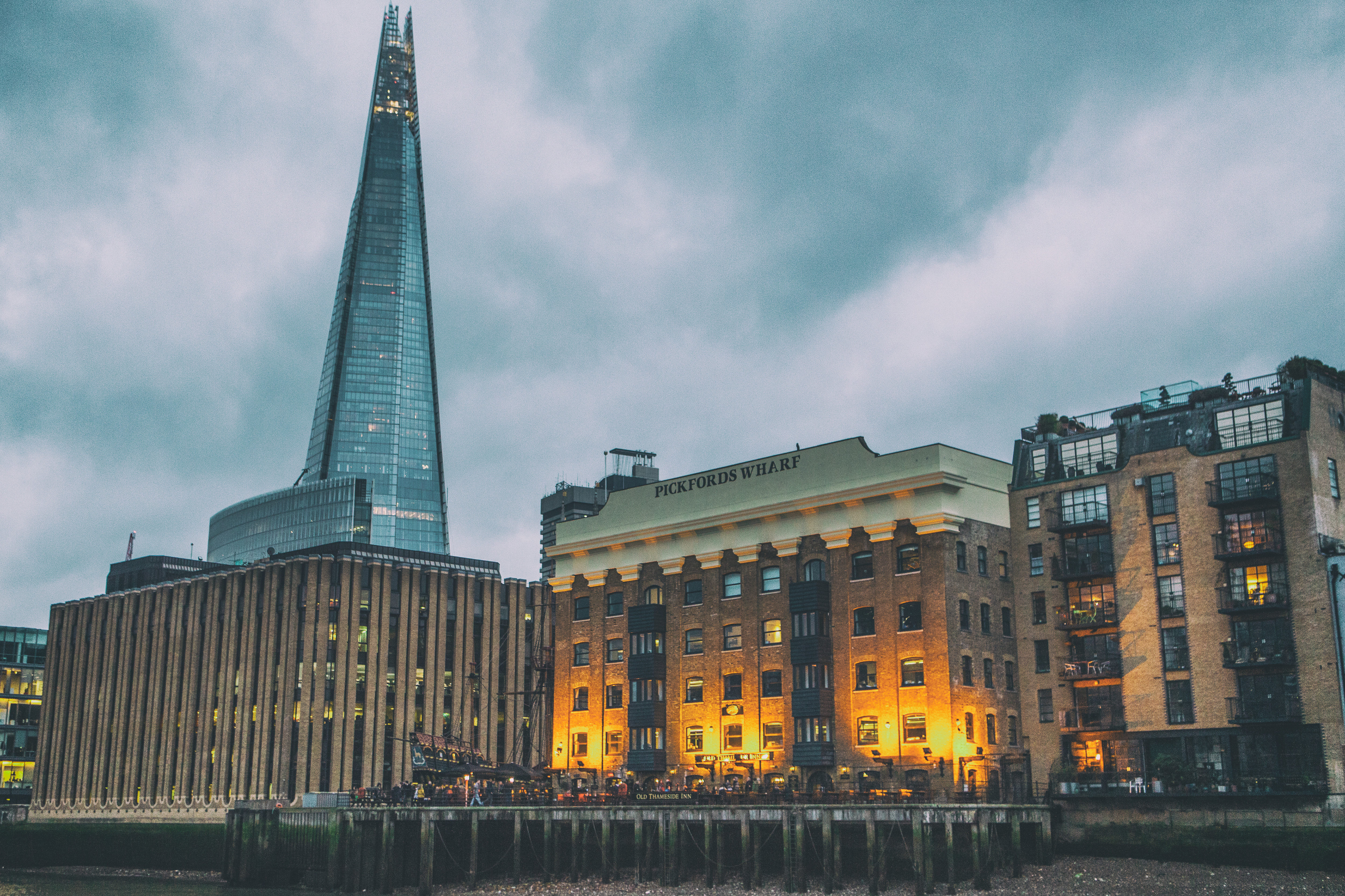 115391 Screensavers and Wallpapers London for phone. Download Cities, London, Building, Evening, Thames pictures for free