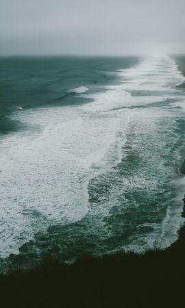 105441壁紙のダウンロード自然, 海洋, 大洋, 海, ショア, 銀行, サーフ-スクリーンセーバーと写真を無料で