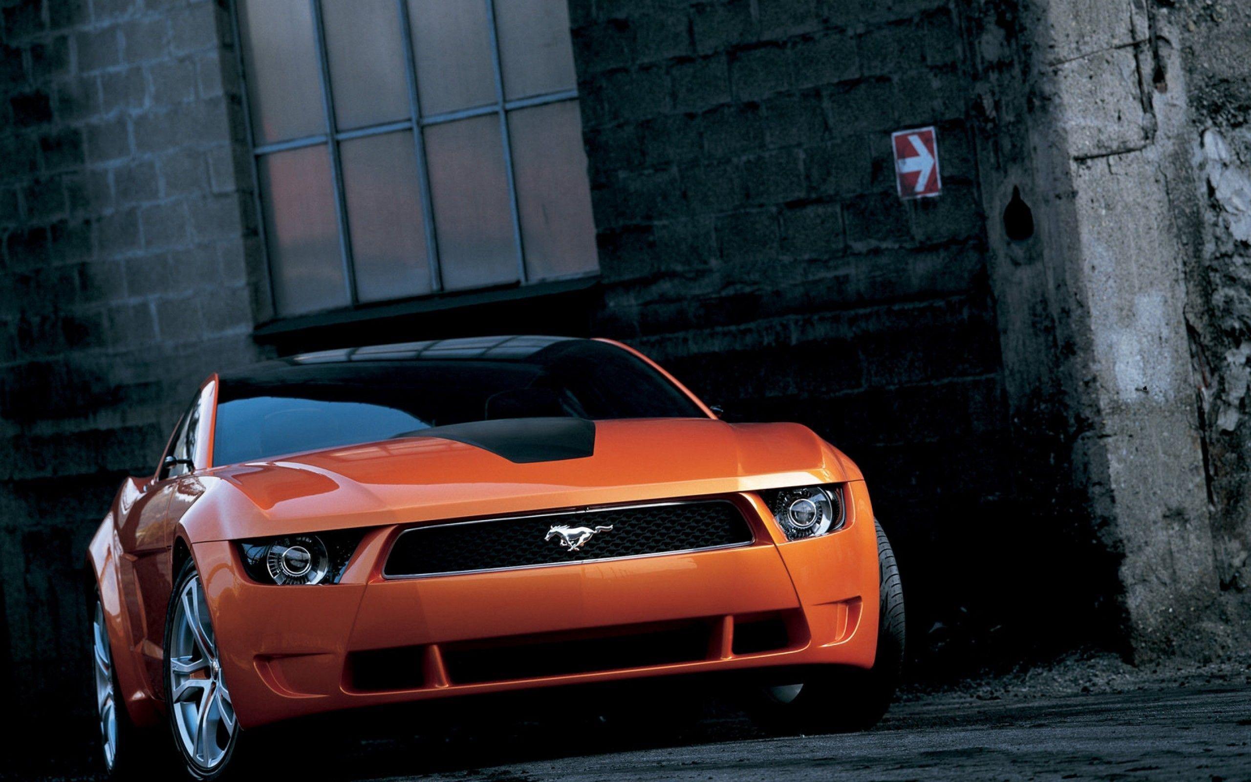 126505 скачать обои Тачки (Cars), Форд (Ford), Мустанг (Mustang), Машины, Вид Спереди - заставки и картинки бесплатно