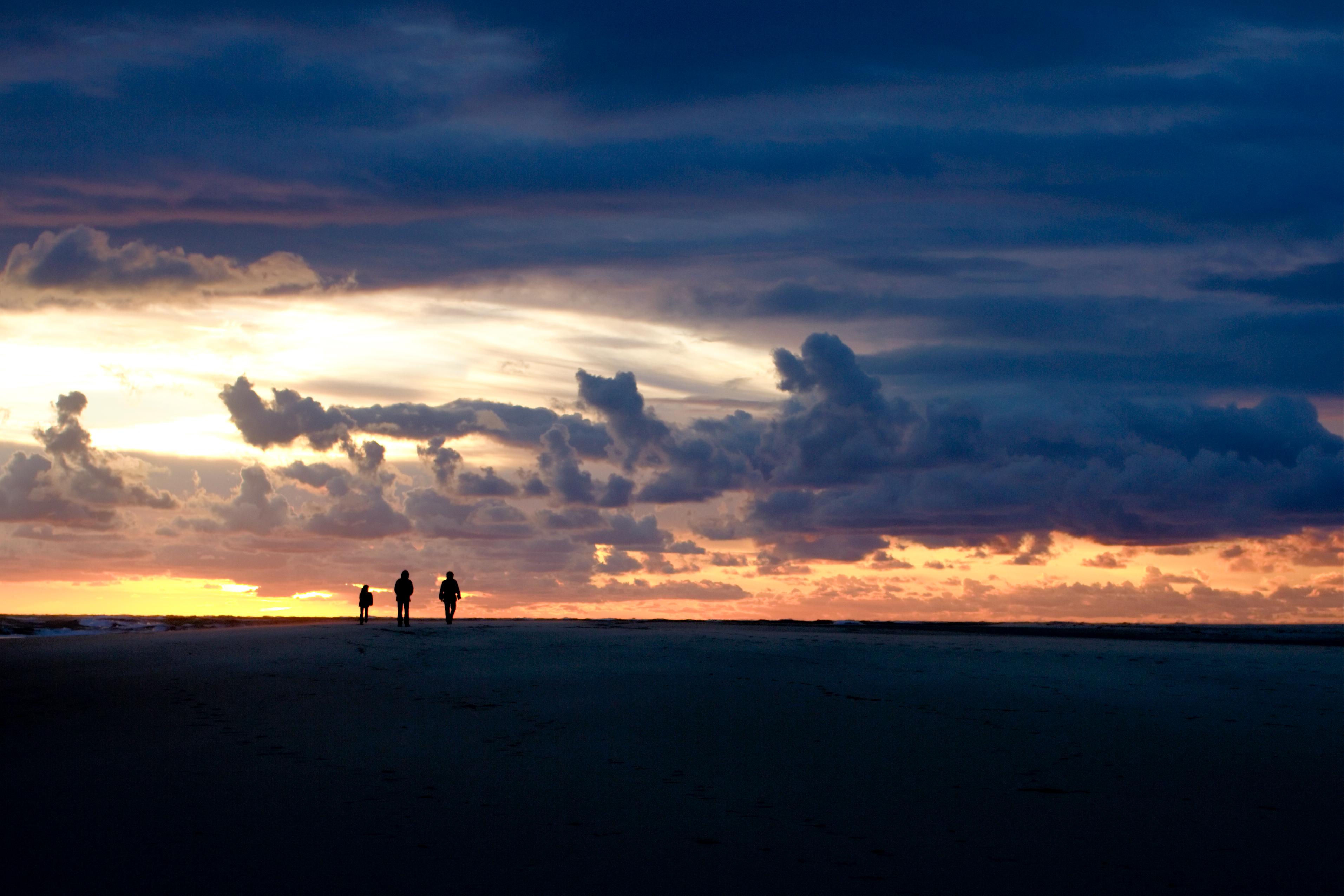 132006壁紙のダウンロード自然, シルエット, 地平線, 日没, 雲, サンジャンキャップフェラ, サン・ジャン・キャップ・フェッラ, フランス-スクリーンセーバーと写真を無料で