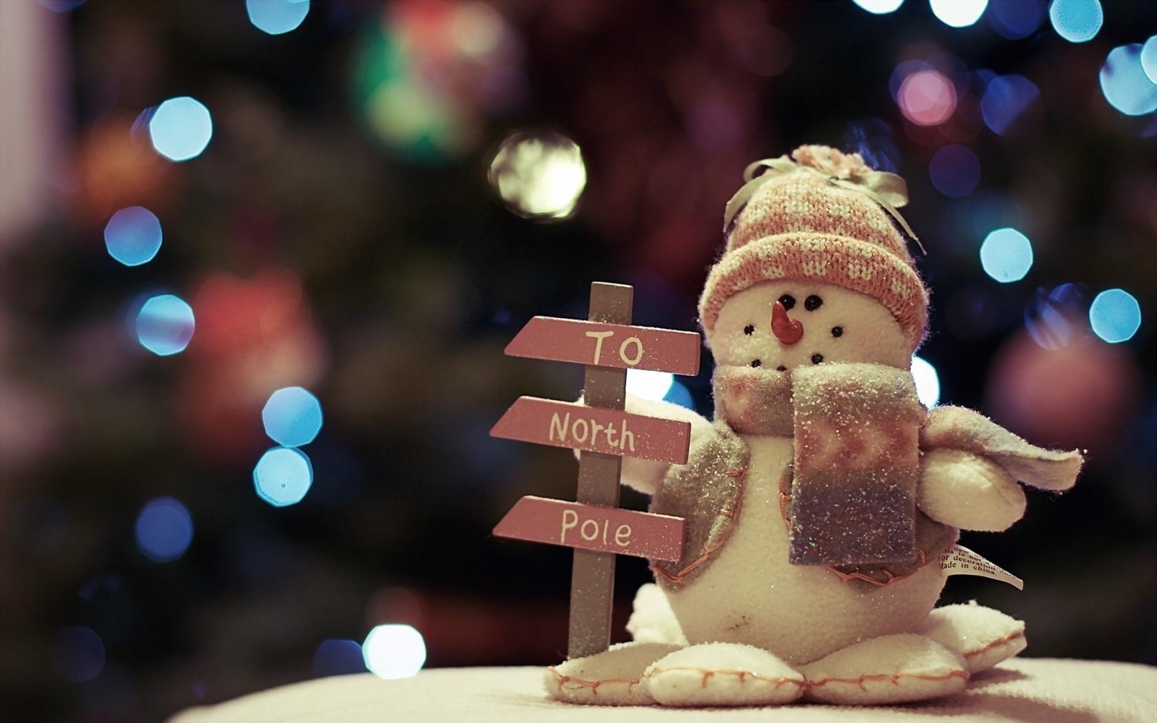 21523 скачать обои Праздники, Новый Год (New Year), Игрушки, Снеговики - заставки и картинки бесплатно