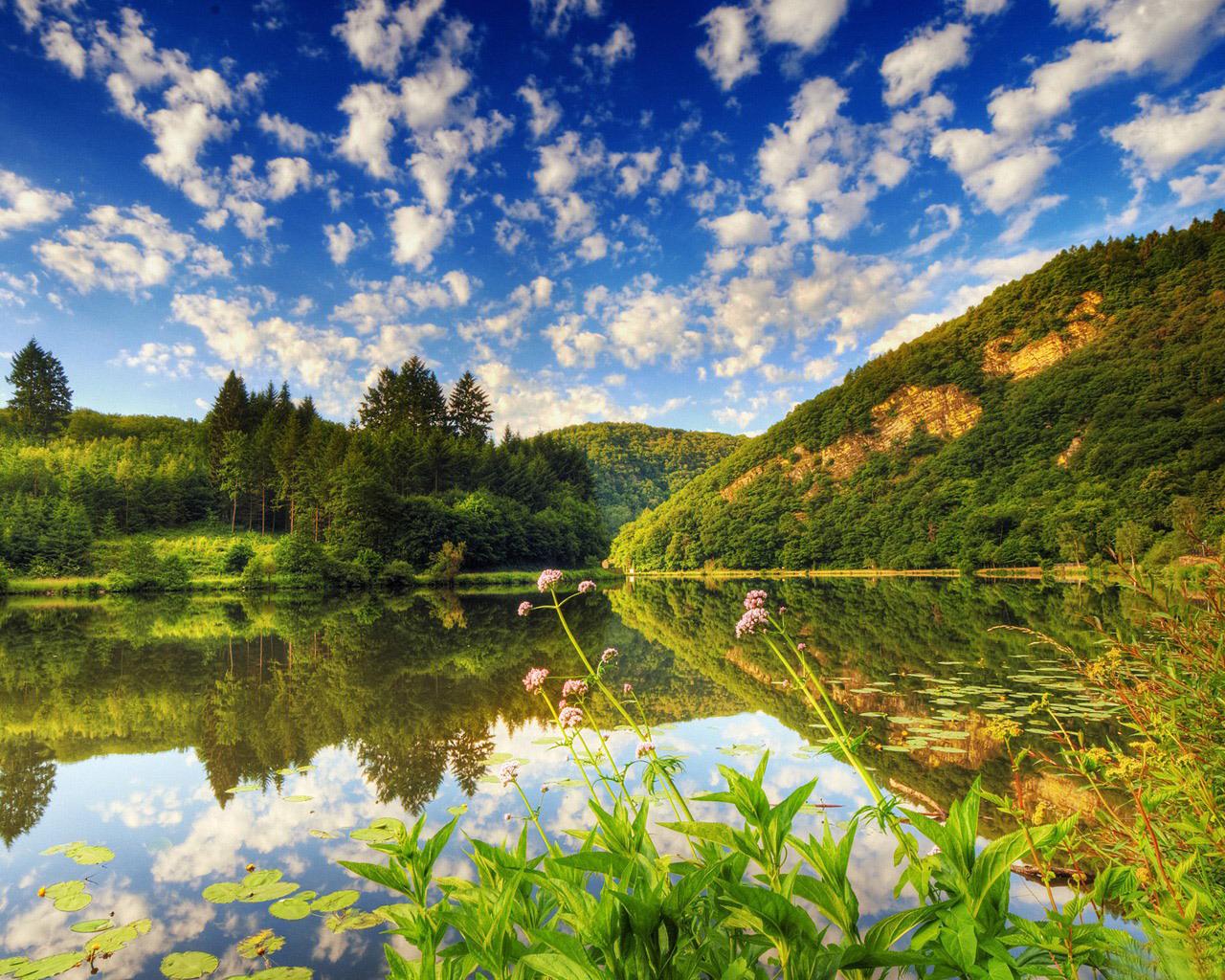 12293 скачать обои Пейзаж, Вода, Небо, Озера - заставки и картинки бесплатно