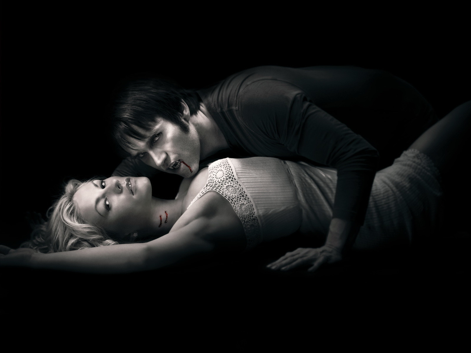 30846 download wallpaper Cinema, People, Vampires, True Blood screensavers and pictures for free