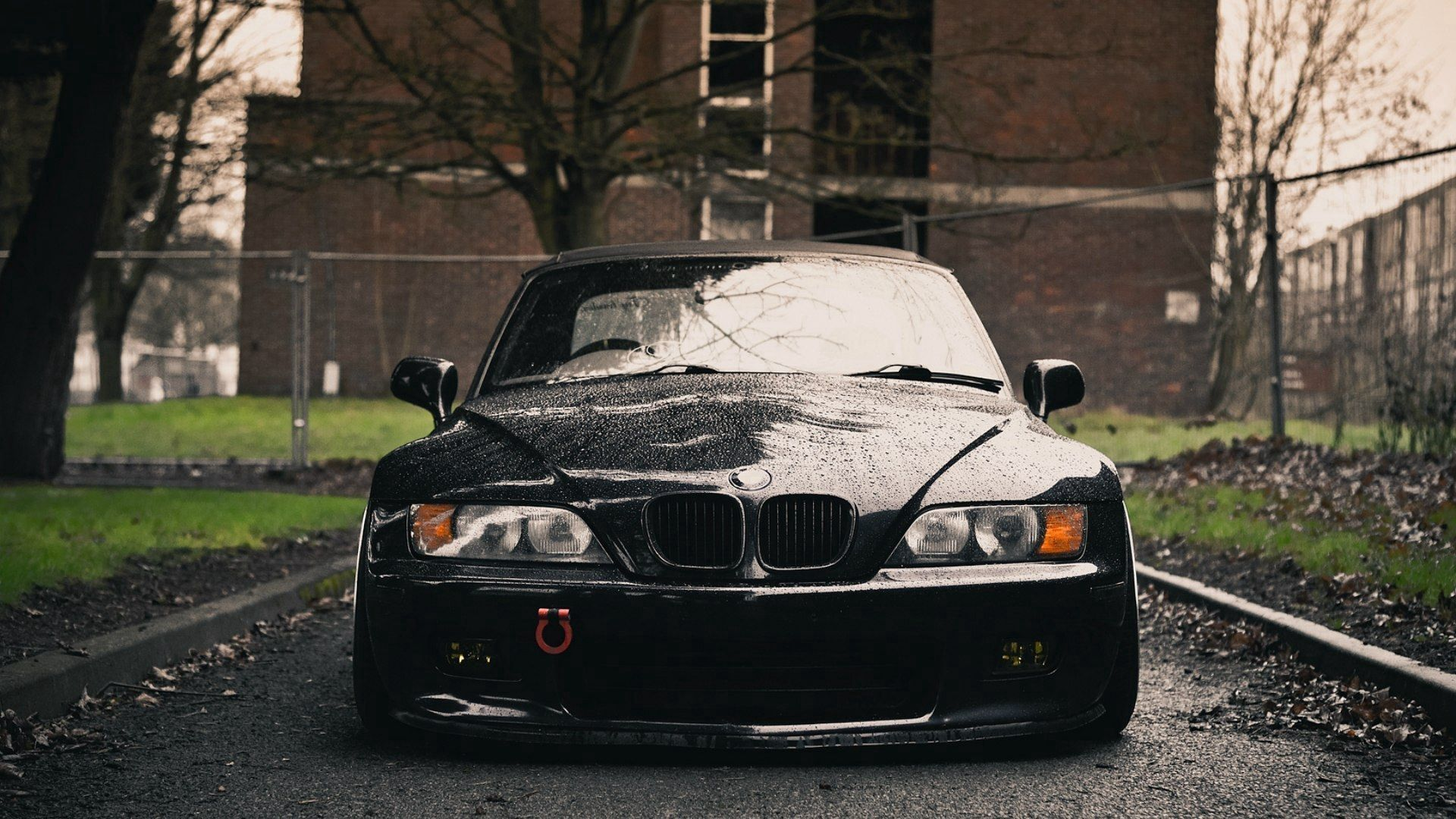115795 Screensavers and Wallpapers Wet for phone. Download Bmw, Cars, Wet, Front, Before, In Front, Z3 pictures for free