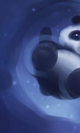 21872 télécharger le fond d'écran Animaux, Dessins, Pandas - économiseurs d'écran et images gratuitement