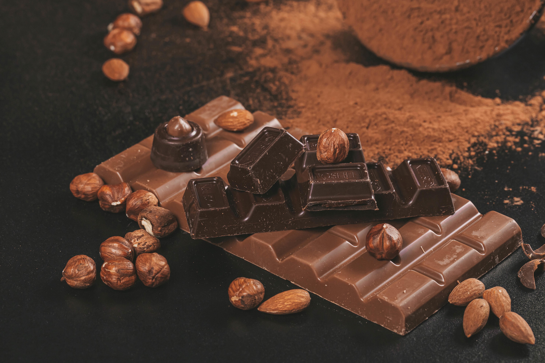 54531 скачать обои Еда, Шоколад, Орехи, Какао, Коричневый - заставки и картинки бесплатно