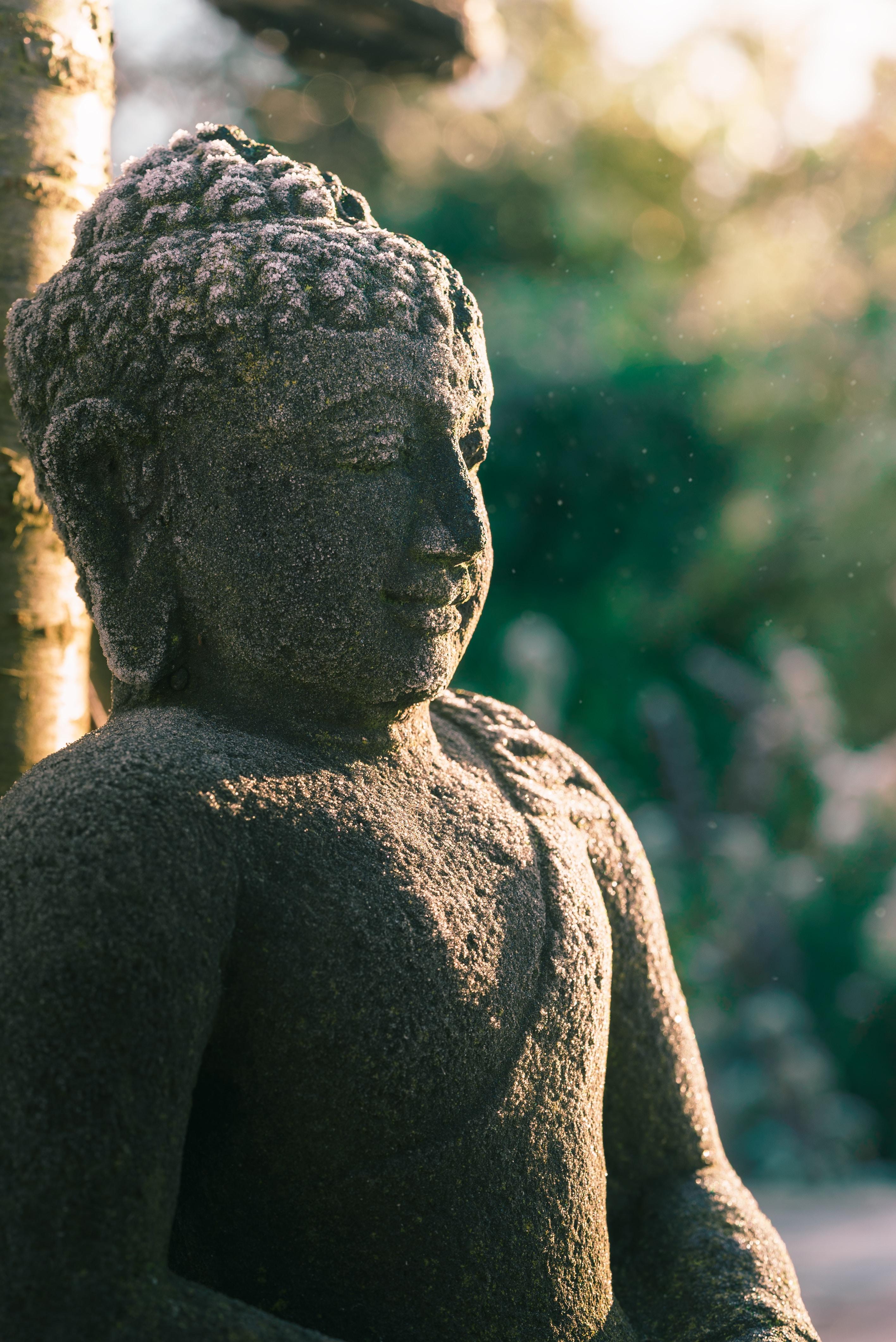 122195 скачать обои Разное, Статуя, Будда, Буддизм, Каменный, Скульптура - заставки и картинки бесплатно