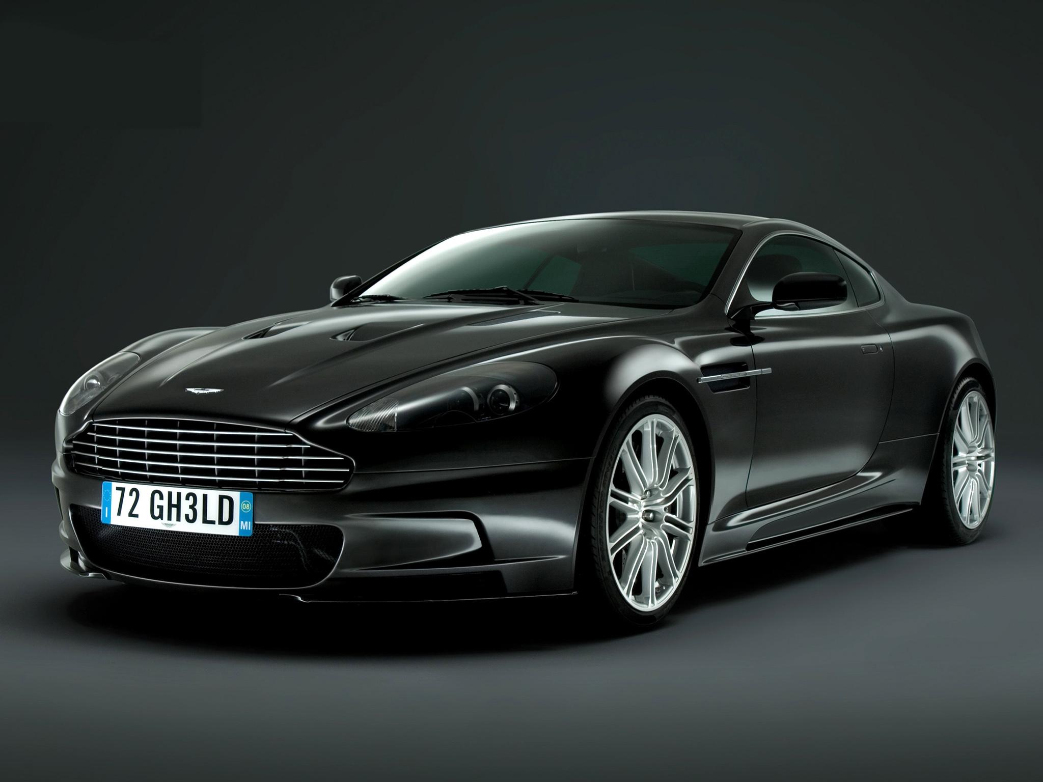 155388 скачать обои Тачки (Cars), Астон Мартин (Aston Martin), Dbs, 2008, Черный, Вид Спереди, Стиль, Машины - заставки и картинки бесплатно