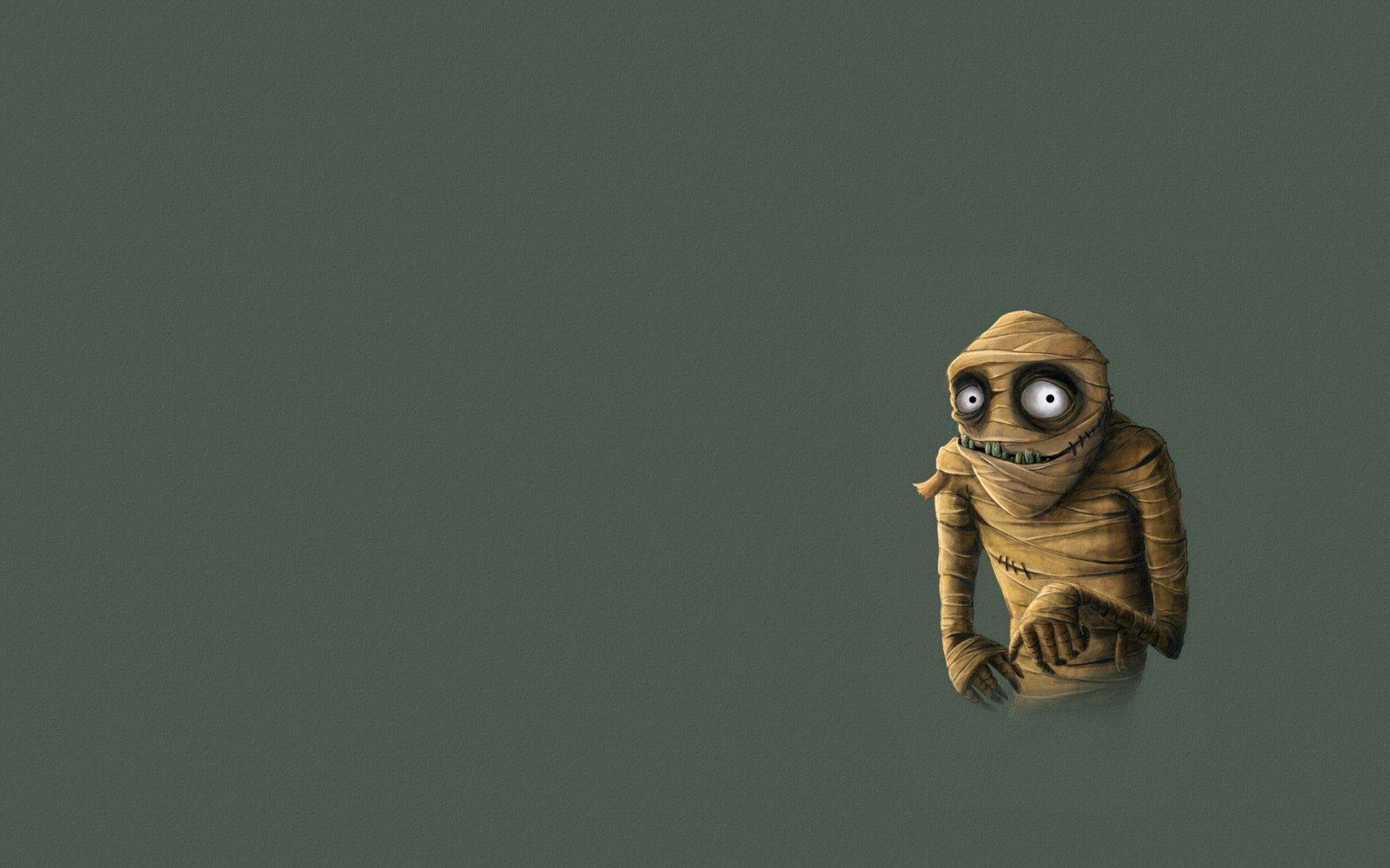 95389 Заставки и Обои Вектор на телефон. Скачать Вектор, Минимализм, Монстр, Бинты, Мумия картинки бесплатно