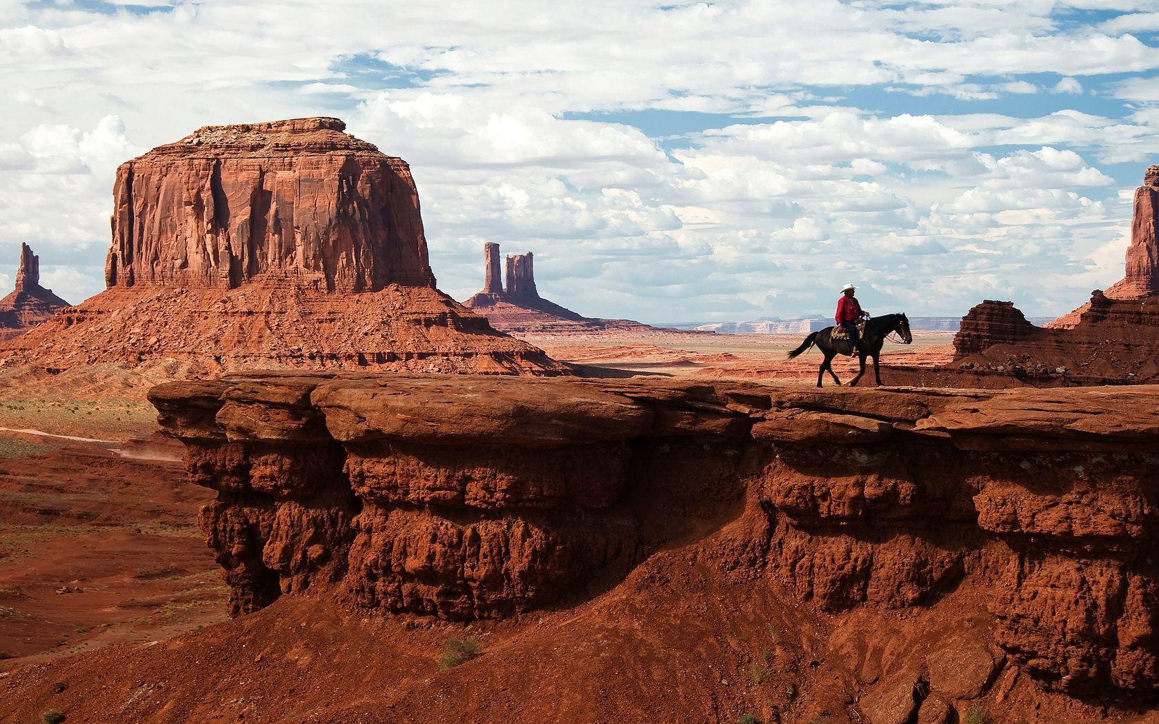 130293 Заставки и Обои Пустыня на телефон. Скачать Природа, Каньон, Пустыня, Всадник, Дикий Запад, Ковбой картинки бесплатно