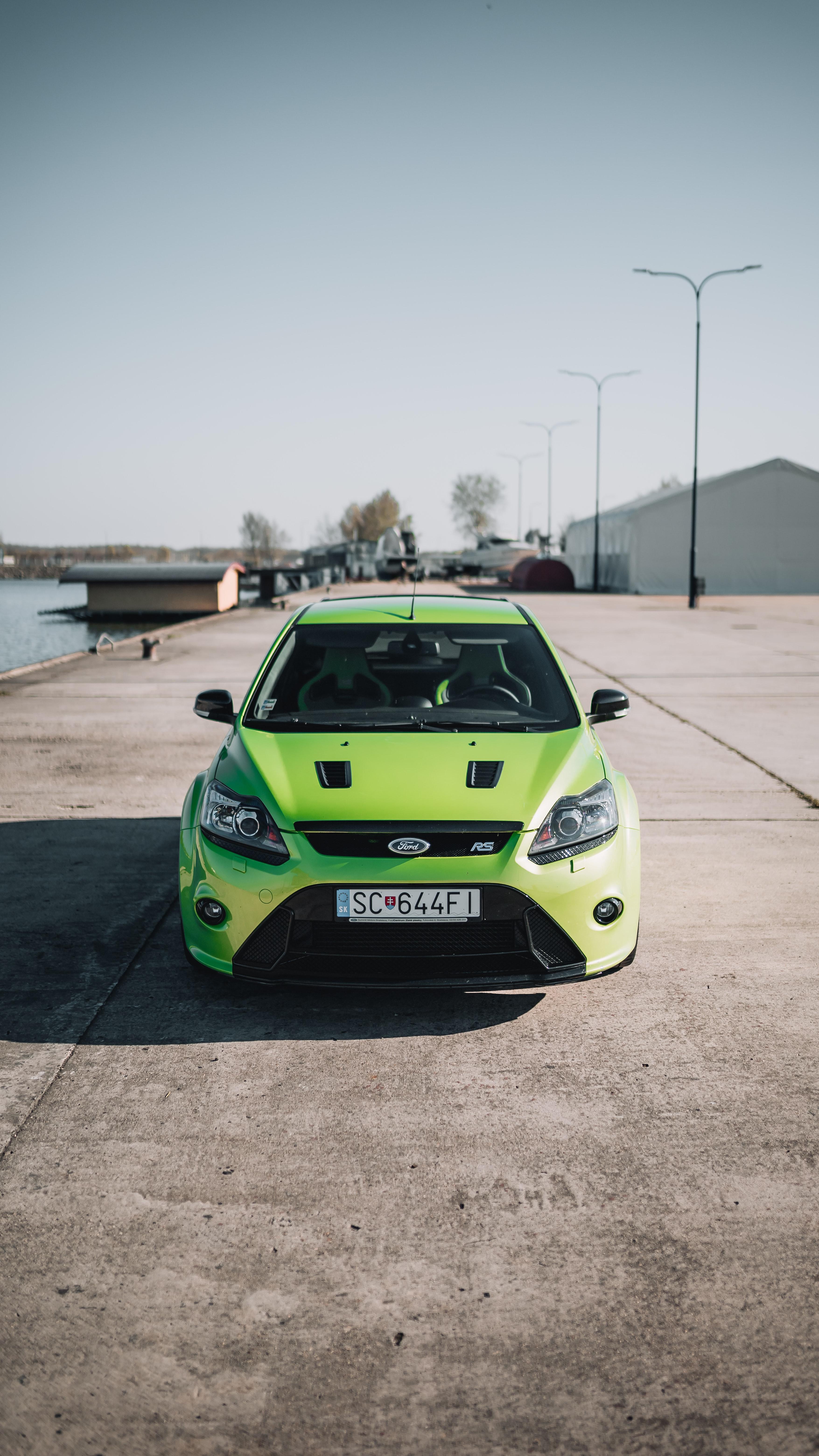 141142 Hintergrundbild herunterladen Ford, Auto, Cars, Vorderansicht, Frontansicht, Maschine - Bildschirmschoner und Bilder kostenlos