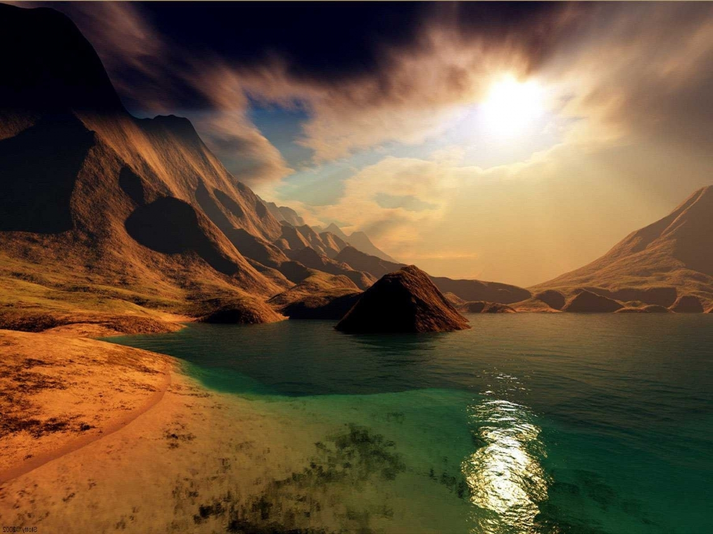 48732 download wallpaper Landscape, Nature, Mountains, Lakes screensavers and pictures for free