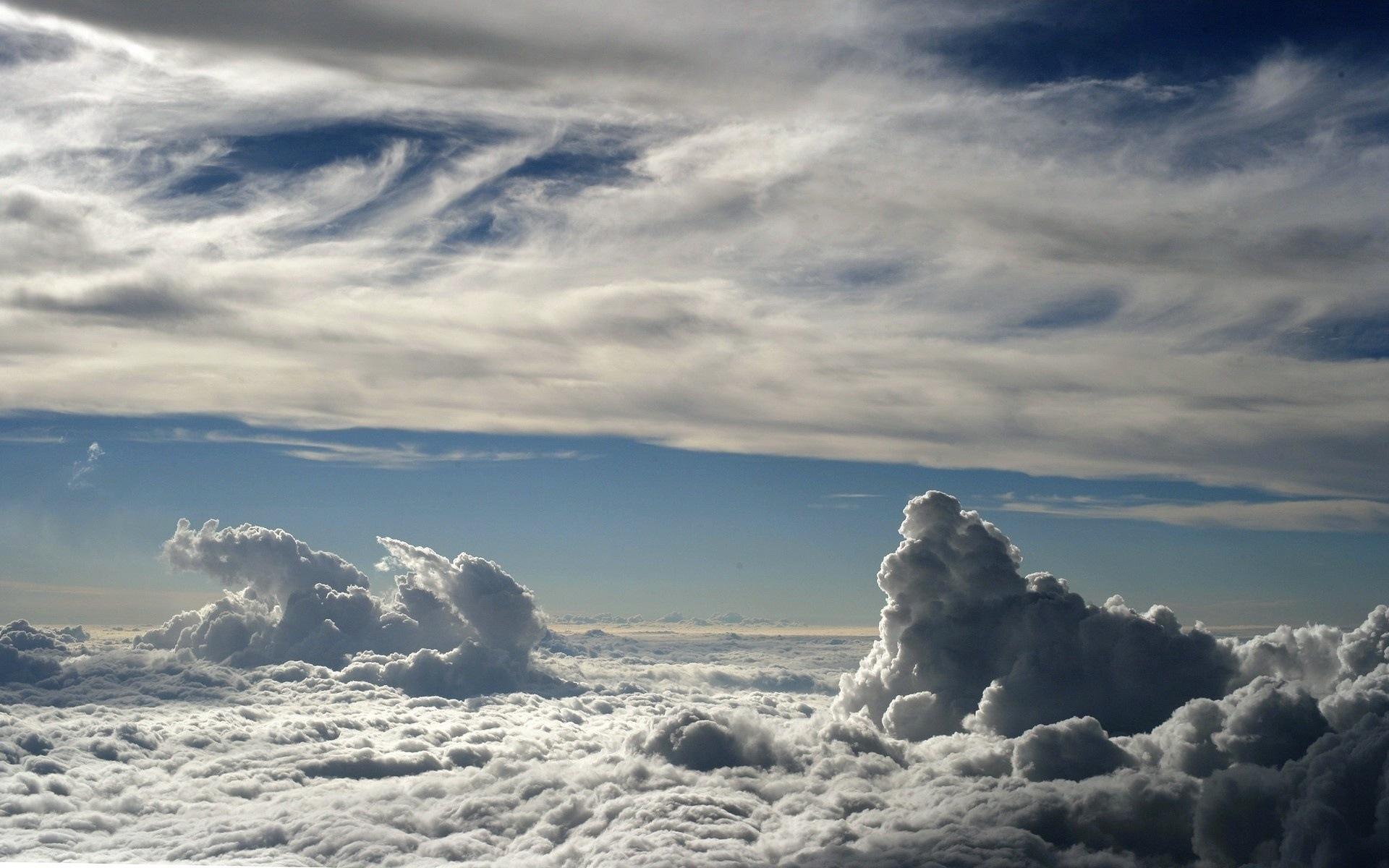 23907 скачать обои Пейзаж, Небо, Облака - заставки и картинки бесплатно