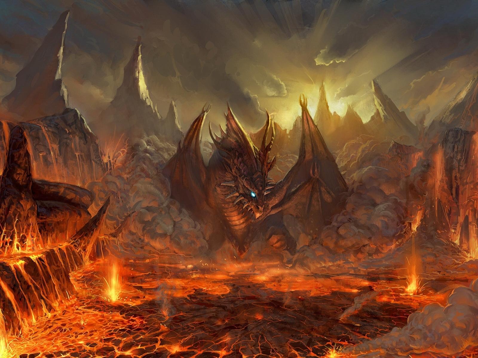2847 descargar fondo de pantalla Fantasía, Arte, Dragones: protectores de pantalla e imágenes gratis