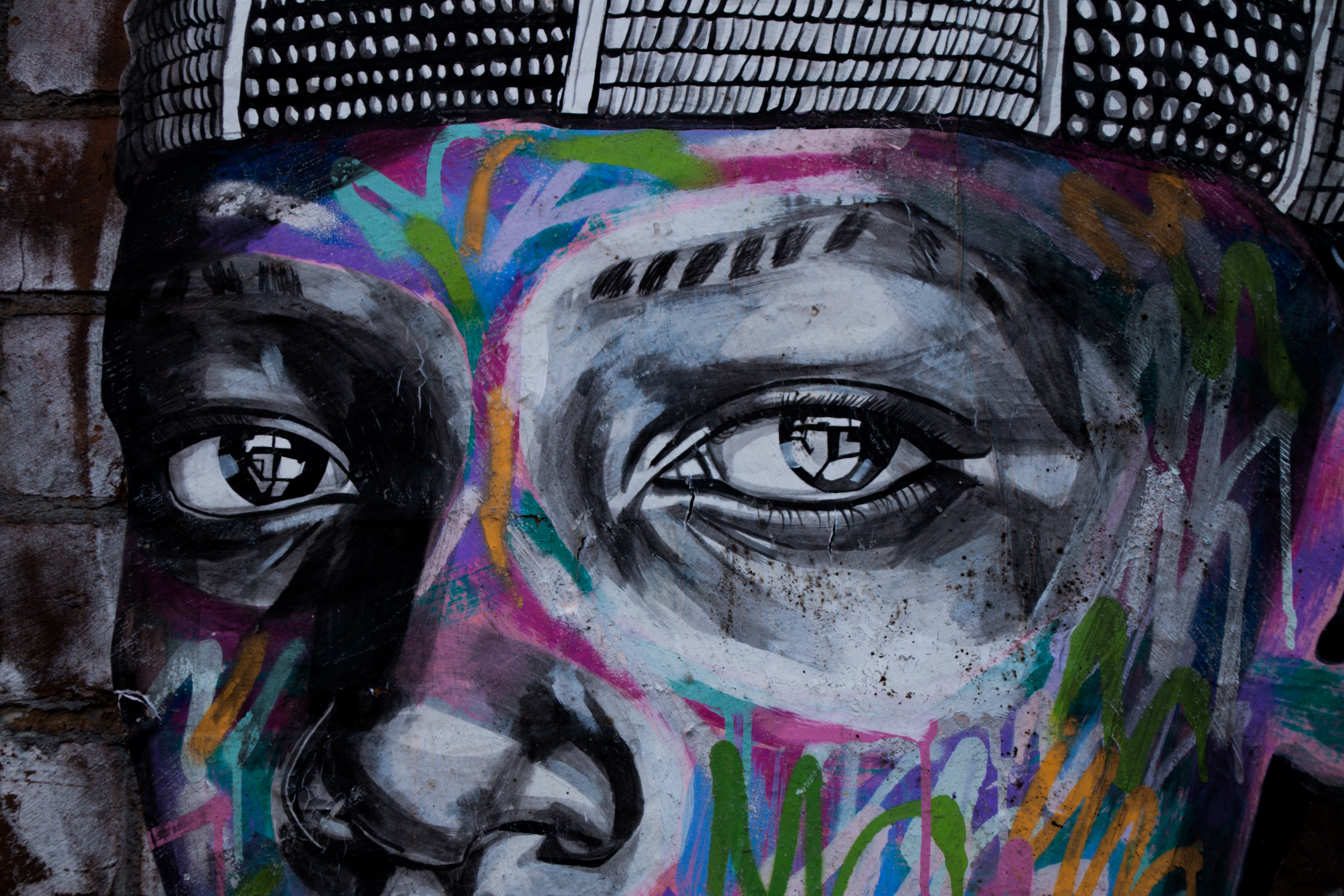 62533 Screensavers and Wallpapers Eyes for phone. Download Art, Eyes, Graffiti, Street Art pictures for free