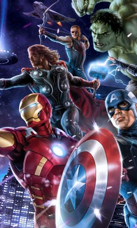 25288 download wallpaper Cinema, Girls, Actors, Men, Avengers screensavers and pictures for free