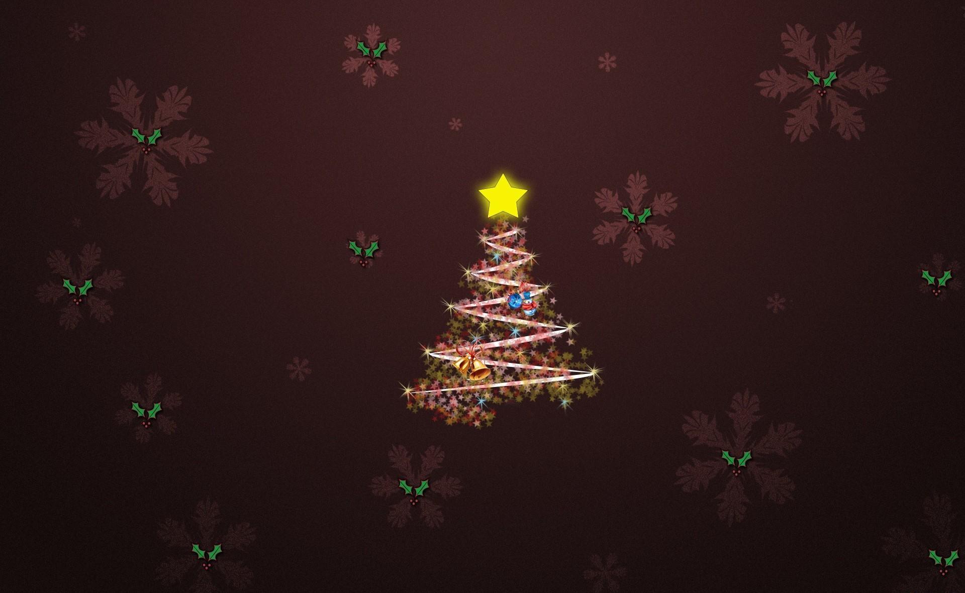 105281 скачать обои Праздники, Елка, Снежинки, Звезда, Колокольчики - заставки и картинки бесплатно