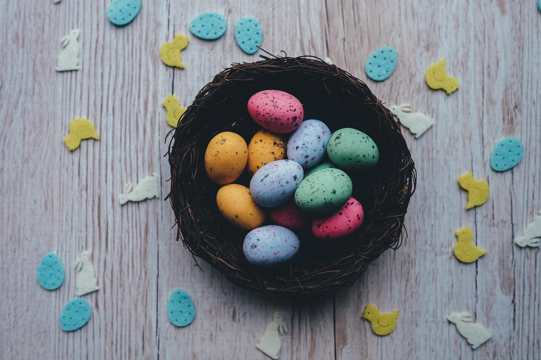 62220 descargar fondo de pantalla Vacaciones, Huevos De Colores, Huevos Pintados, Huevos De Codorniz, Pascua: protectores de pantalla e imágenes gratis