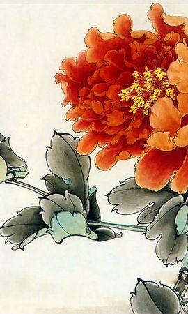 7143 скачать обои Растения, Цветы, Рисунки - заставки и картинки бесплатно