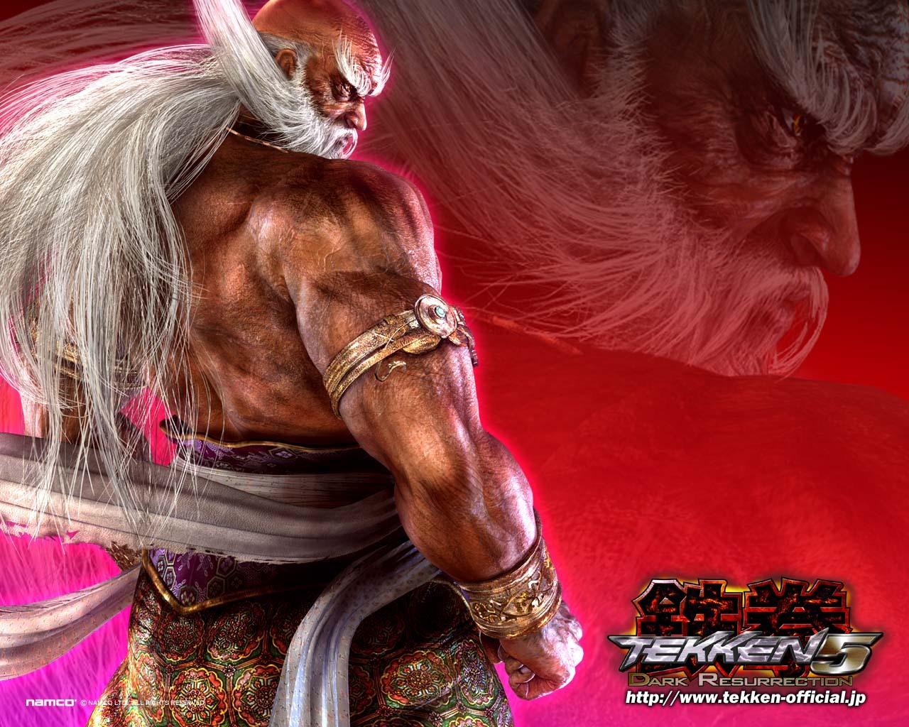 8719 скачать обои Игры, Tekken - заставки и картинки бесплатно