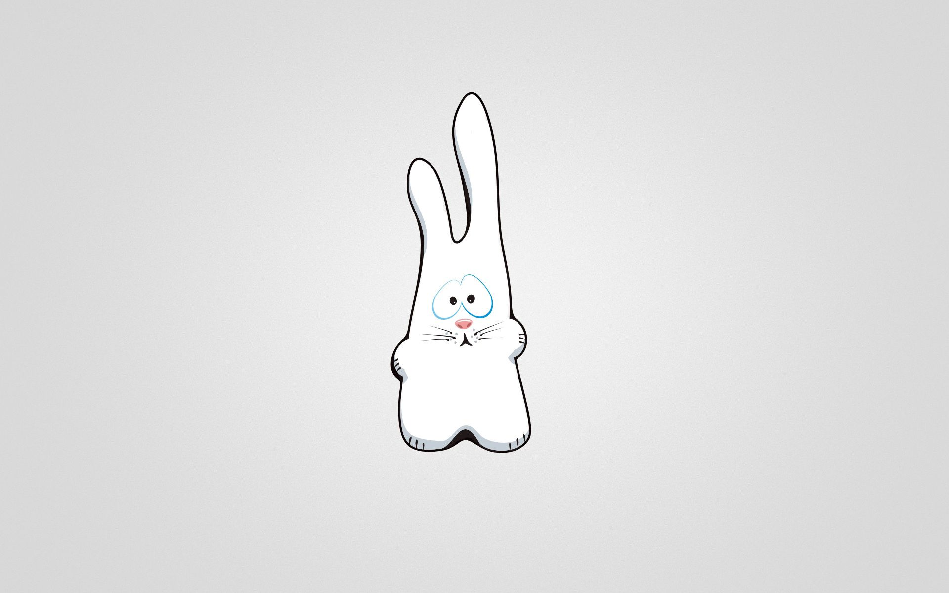 95271 Screensavers and Wallpapers Picture for phone. Download Vector, Picture, Drawing, Sad, Hare pictures for free