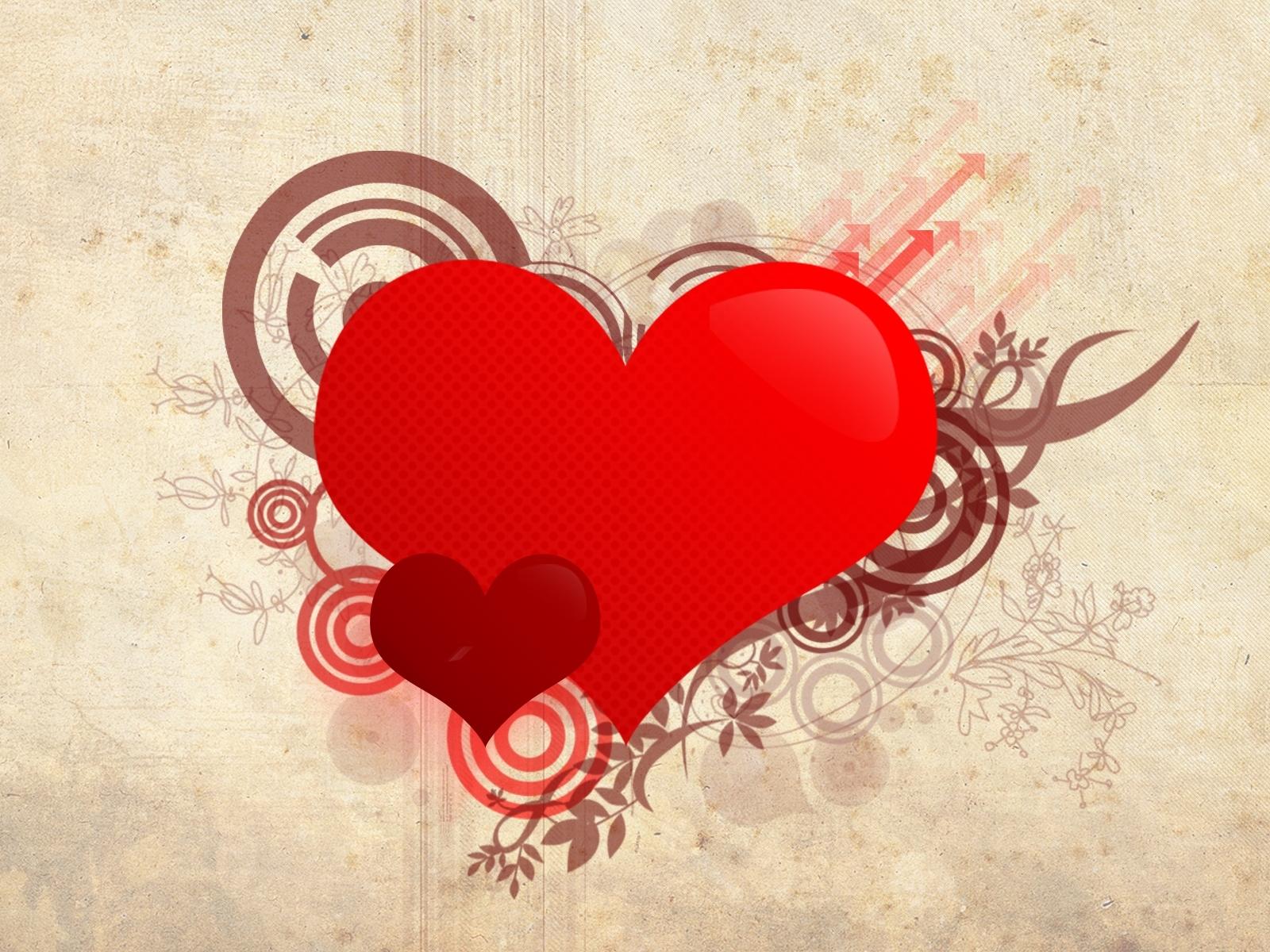 191 descargar fondo de pantalla Abstracción, Corazones, Amor, Día De San Valentín, Imágenes: protectores de pantalla e imágenes gratis