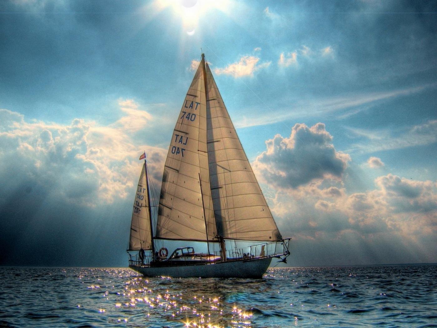 25123 Заставки и Обои Яхты на телефон. Скачать Транспорт, Пейзаж, Море, Солнце, Облака, Яхты картинки бесплатно