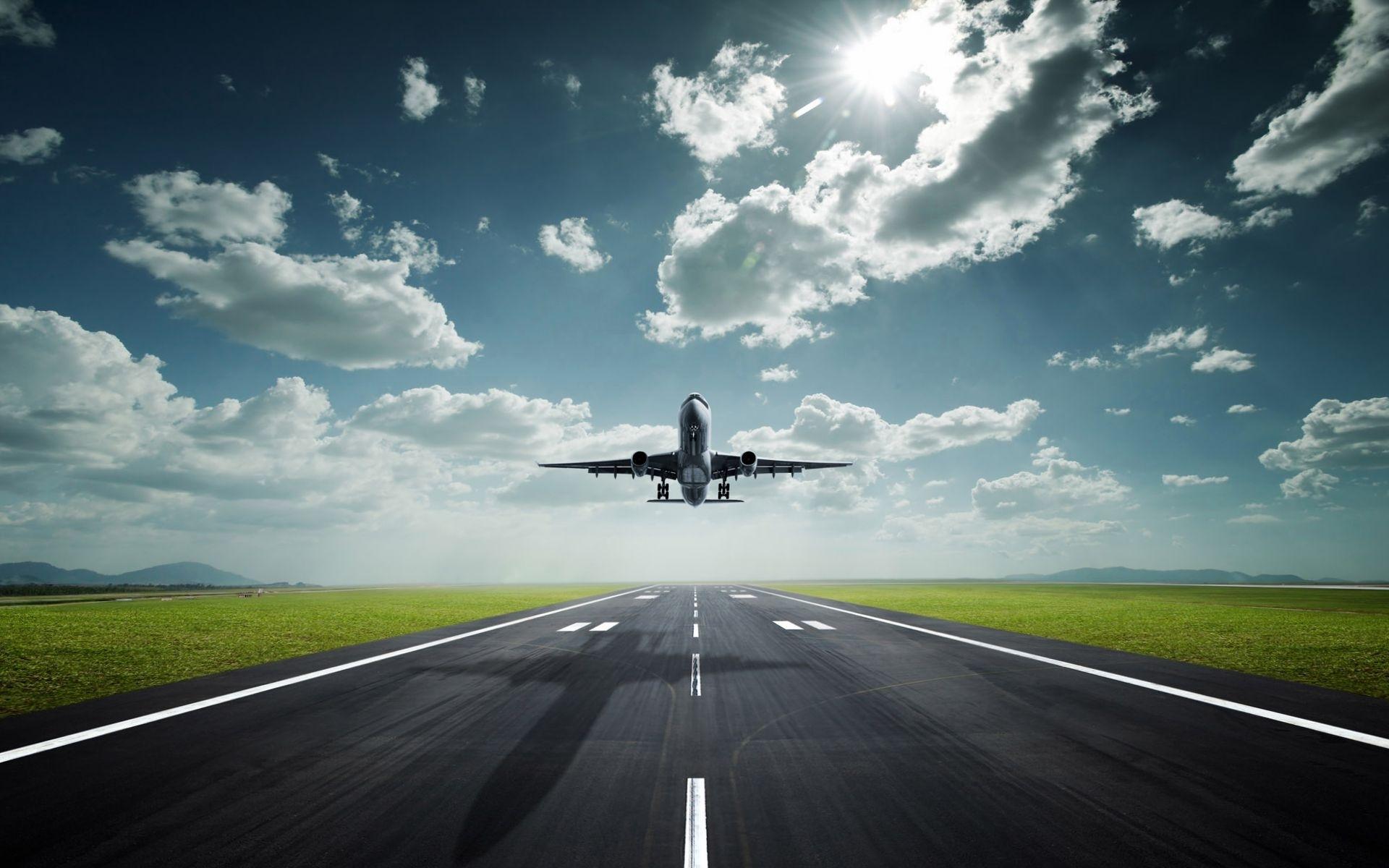31513 Hintergrundbild herunterladen Flugzeuge, Transport - Bildschirmschoner und Bilder kostenlos