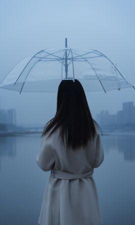 111823 télécharger le fond d'écran Divers, Humain, Personne, Parapluie, Fille, Pluie, Solitude, Seule, Solitaire - économiseurs d'écran et images gratuitement